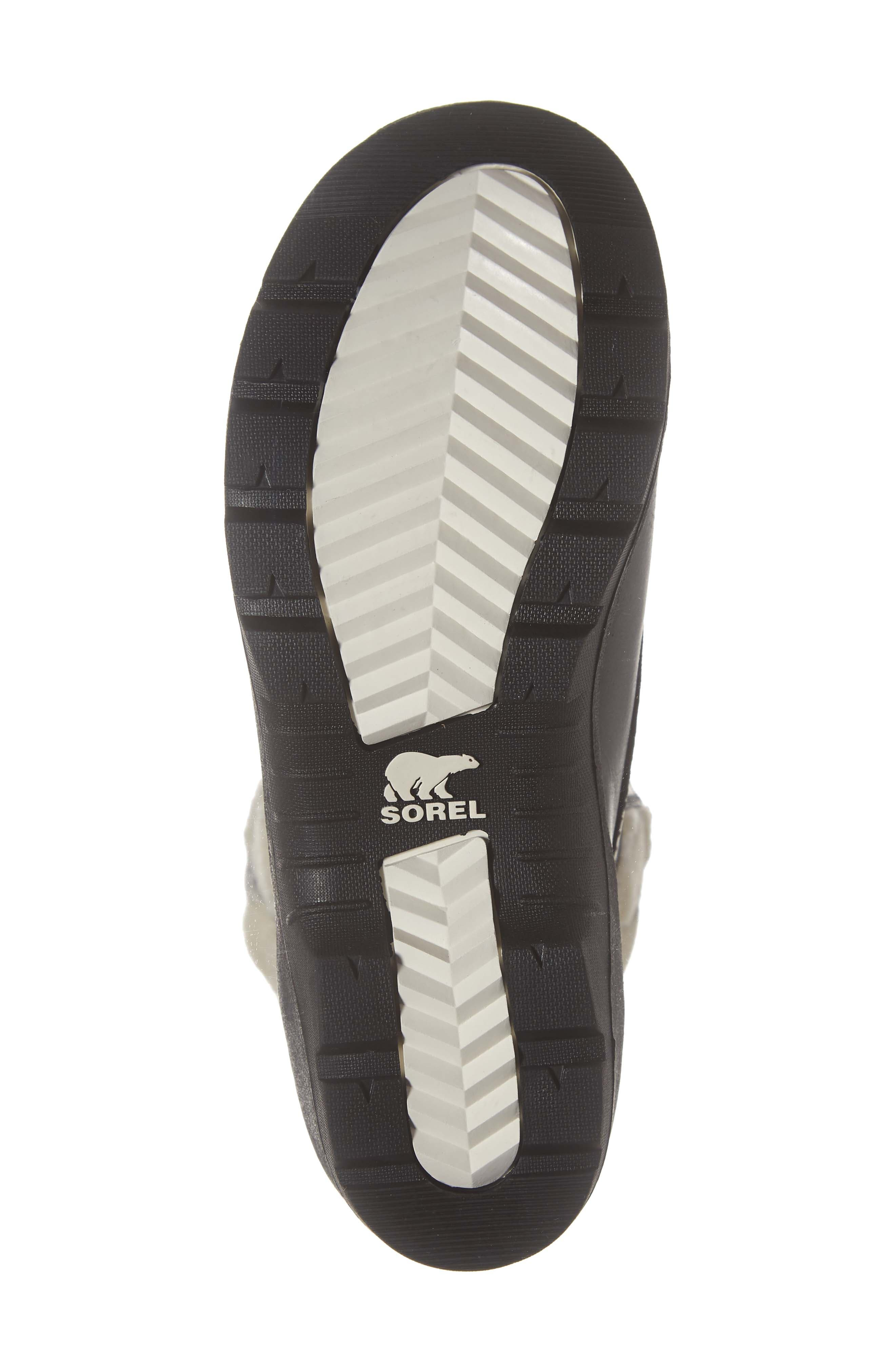 Whistler<sup>™</sup> Waterproof Insulated Boot,                             Alternate thumbnail 6, color,                             BLACK/ BLACK/ NATURAL