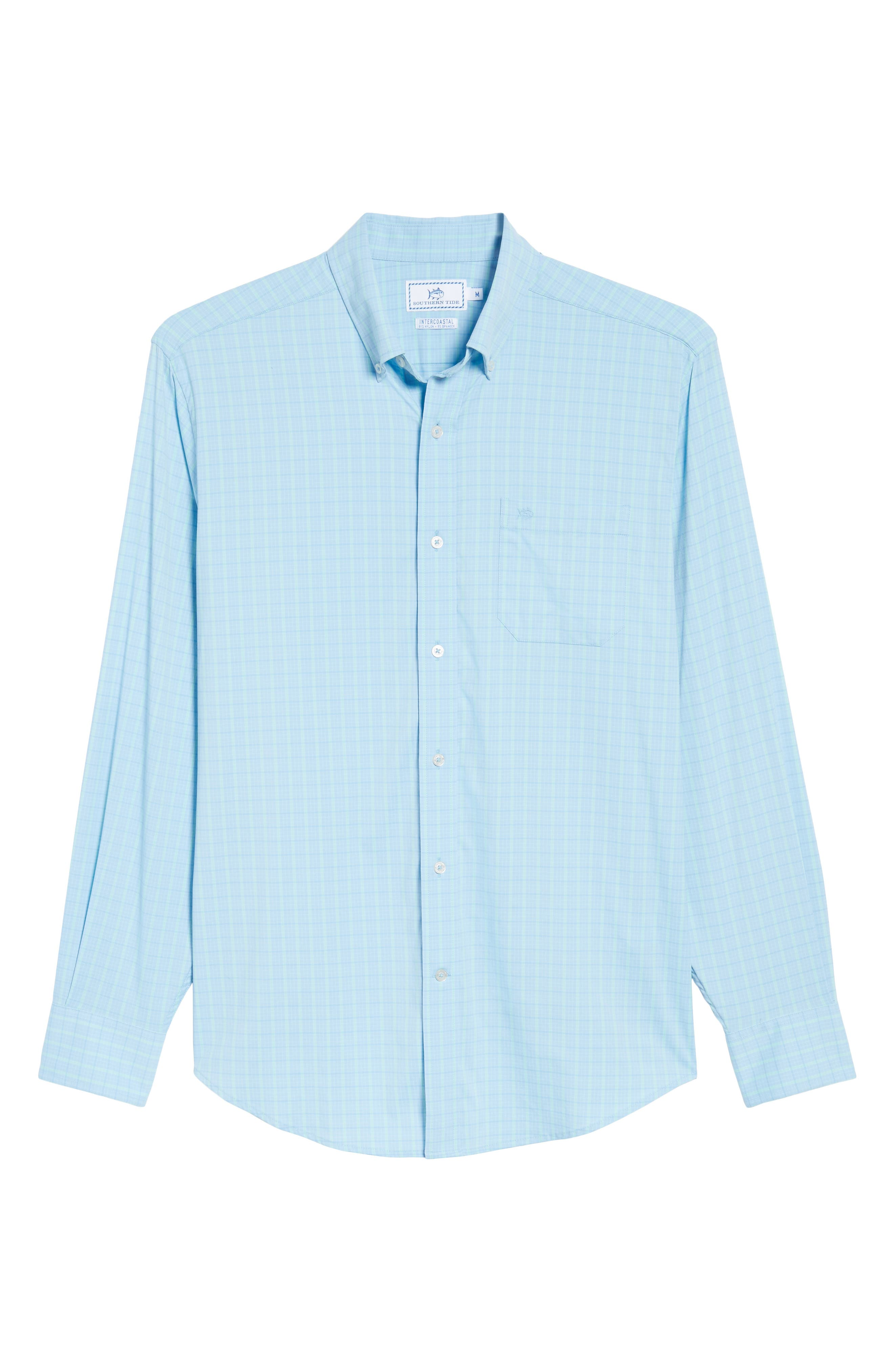 Intercoastal Gordia Plaid Sport Shirt,                             Alternate thumbnail 12, color,