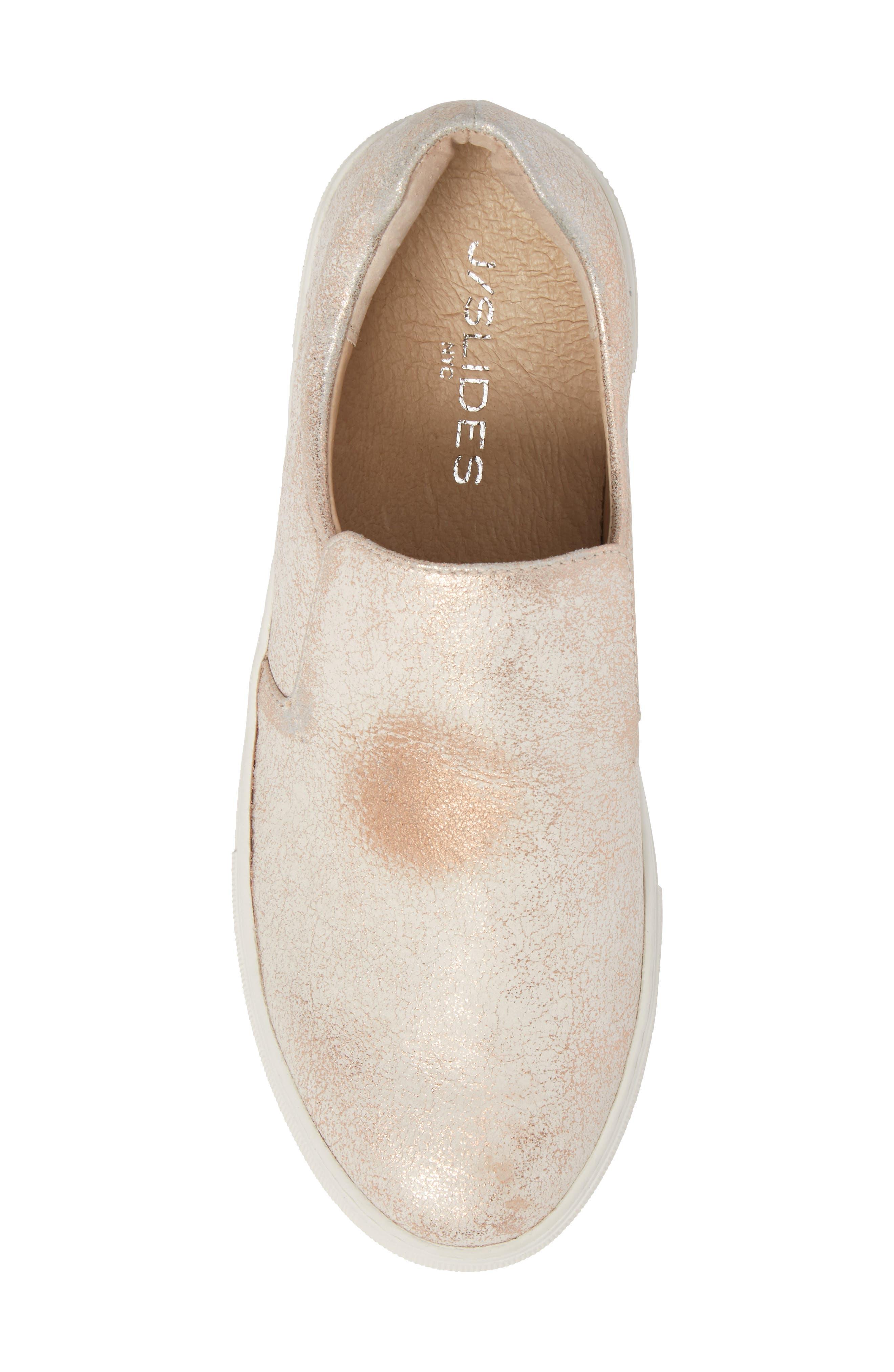 Acer Slip-On Sneaker,                             Alternate thumbnail 5, color,                             SOFT PINK SUEDE