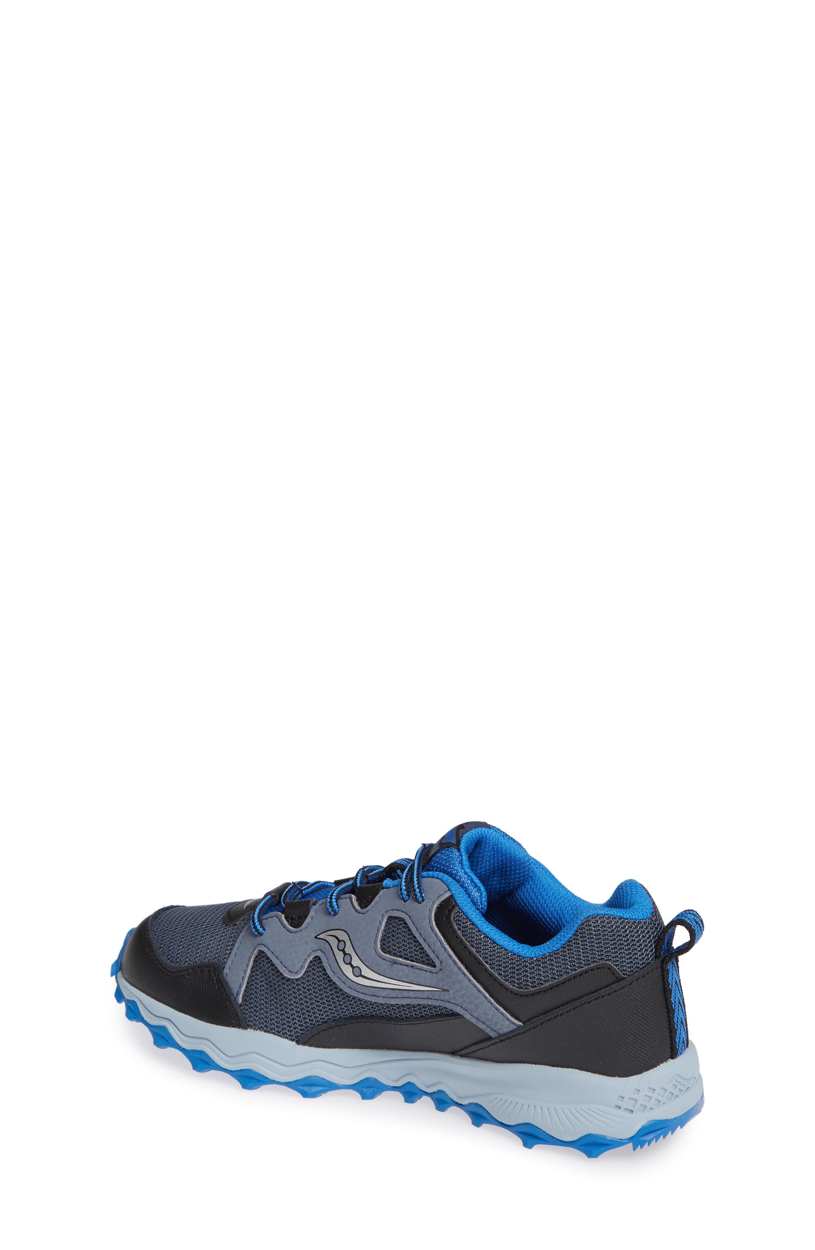 Peregrine Shield 2 Water Repellent Sneaker,                             Alternate thumbnail 2, color,                             GREY LEATHER/ MESH