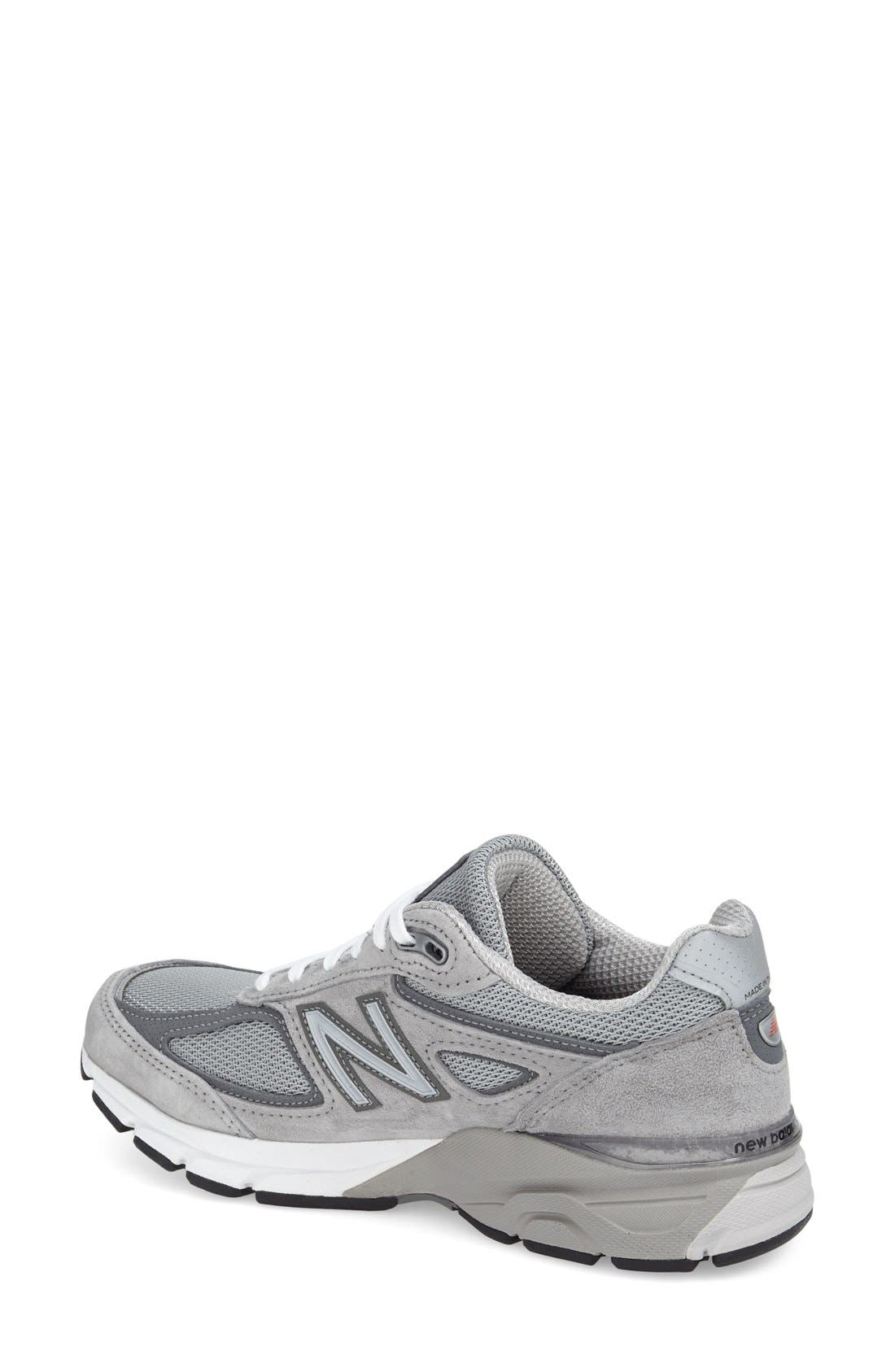 '990 Premium' Running Shoe,                             Alternate thumbnail 2, color,                             COOL GREY