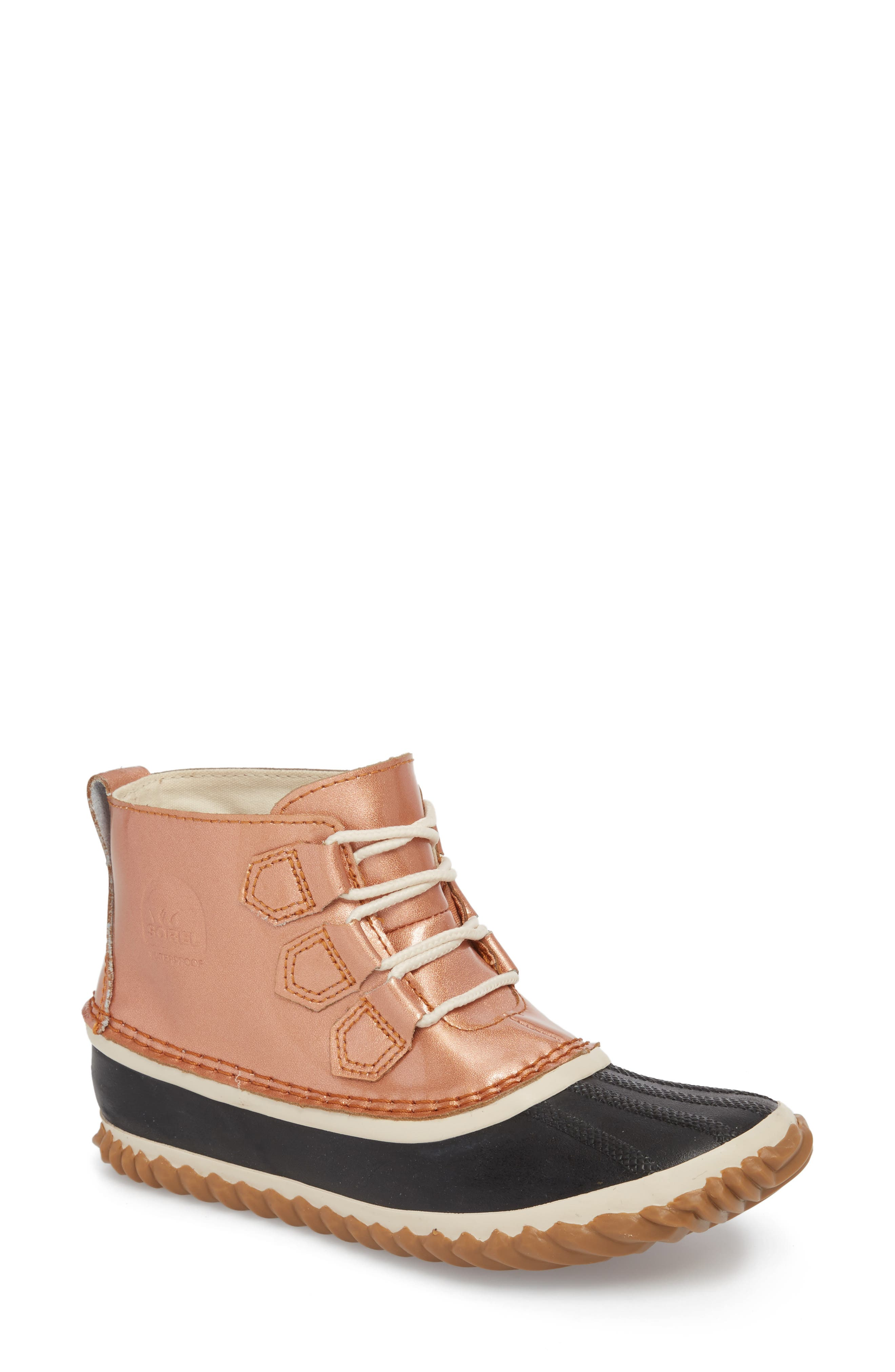 'Out N About' Leather Boot,                             Main thumbnail 2, color,