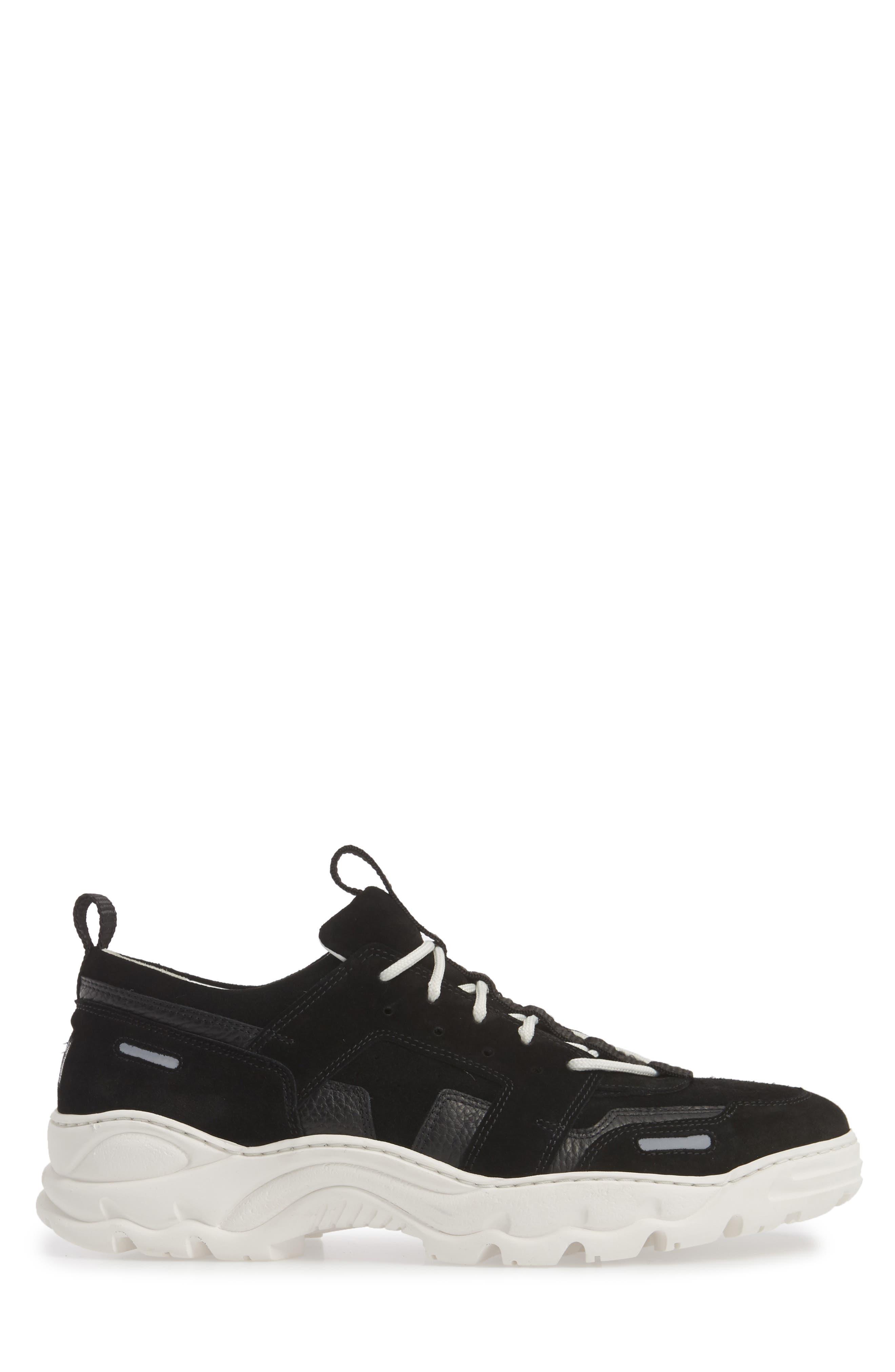 Colorblock Runner Sneaker,                             Alternate thumbnail 3, color,                             010