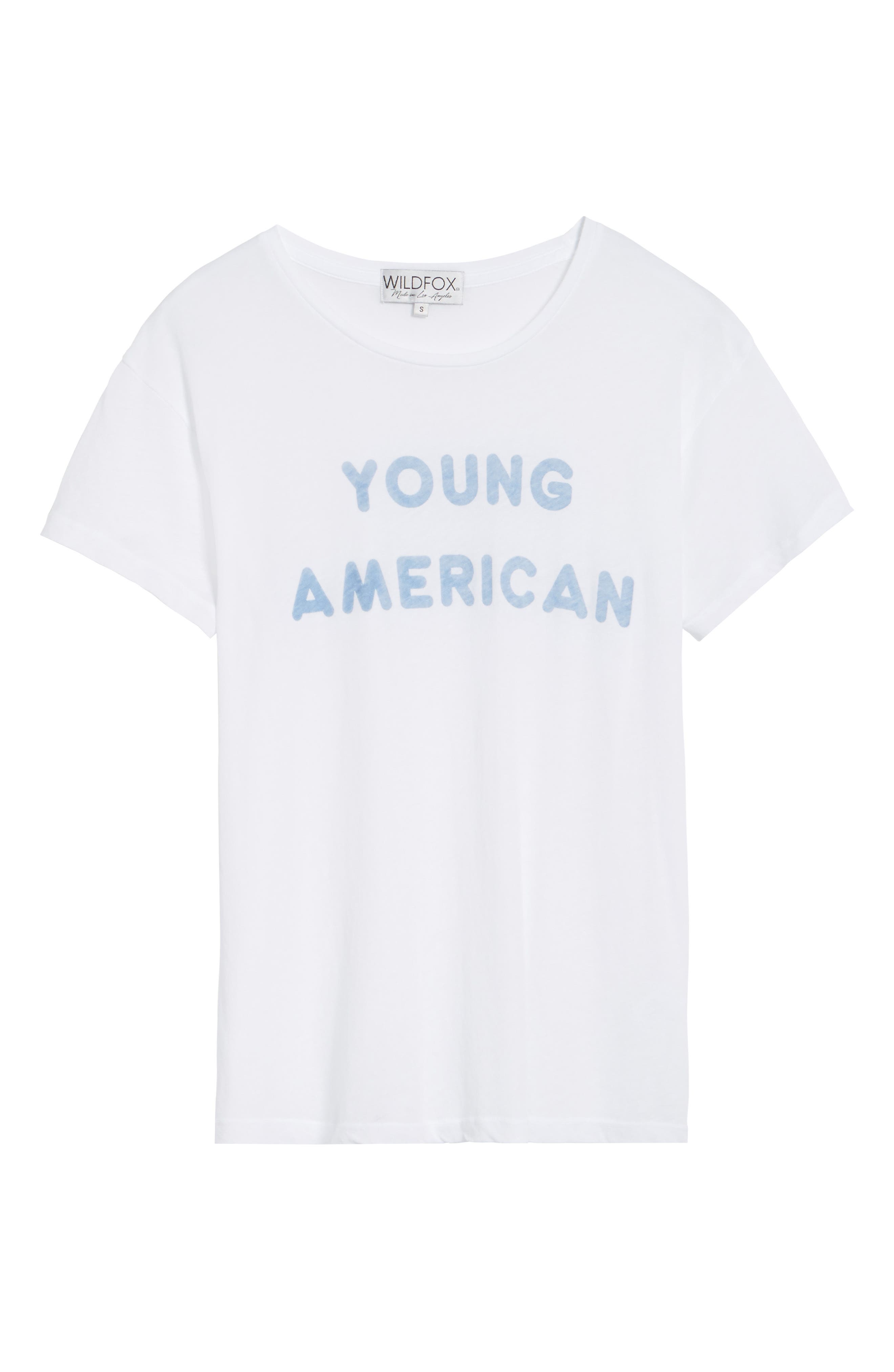 Young American Tee,                             Alternate thumbnail 6, color,
