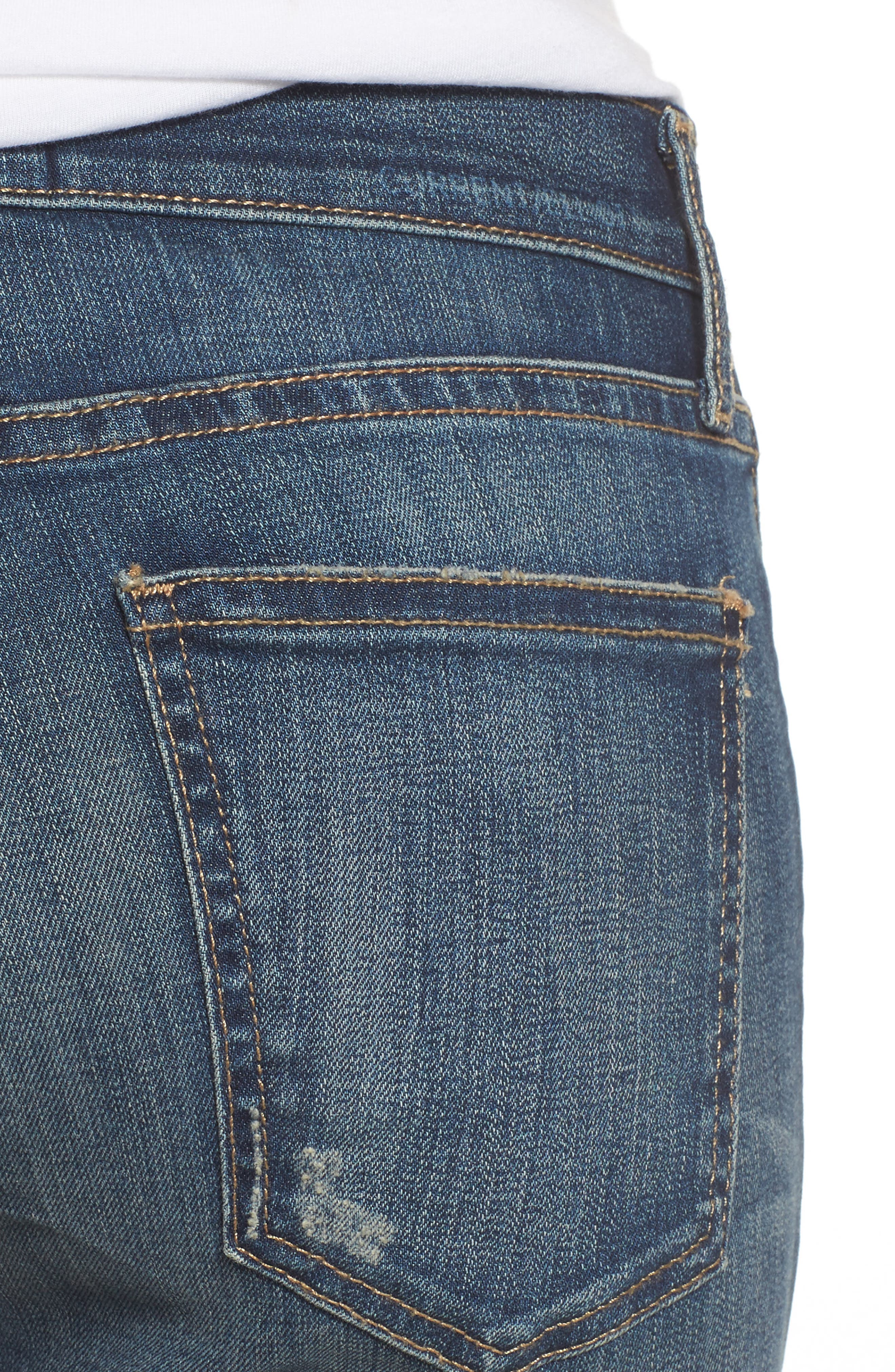 'The Stiletto' Stretch Jeans,                             Alternate thumbnail 9, color,