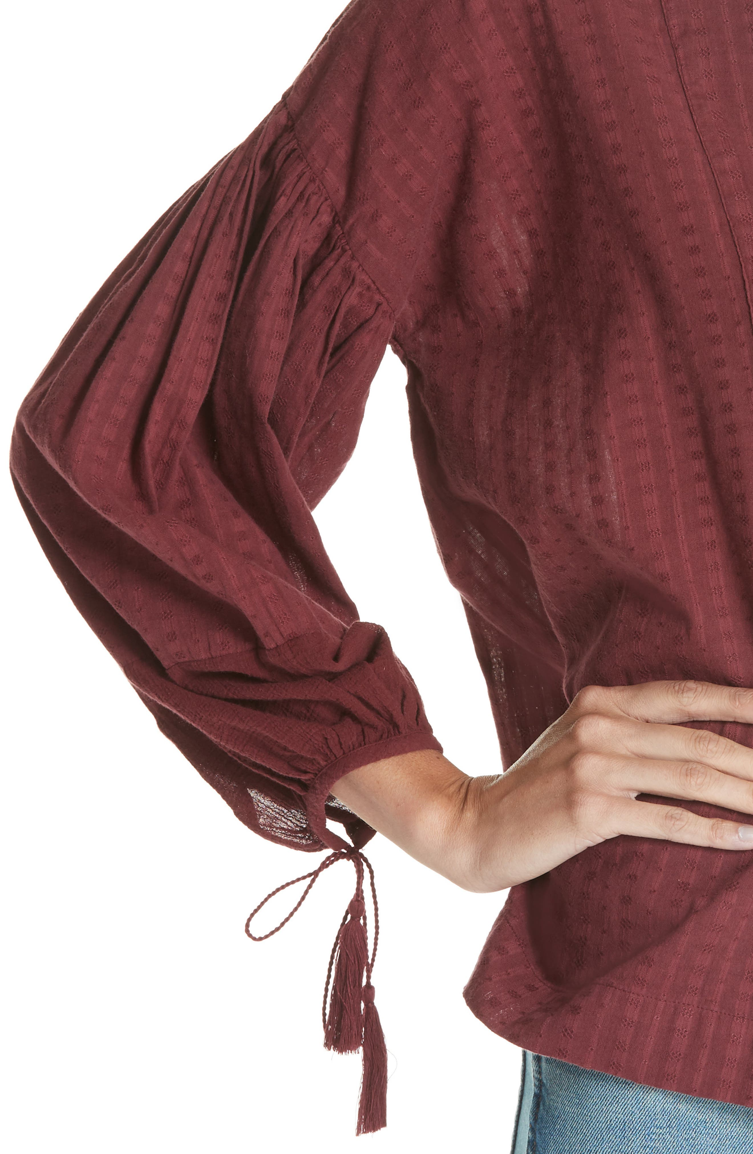 The Panel Tunic Top,                             Alternate thumbnail 4, color,                             930
