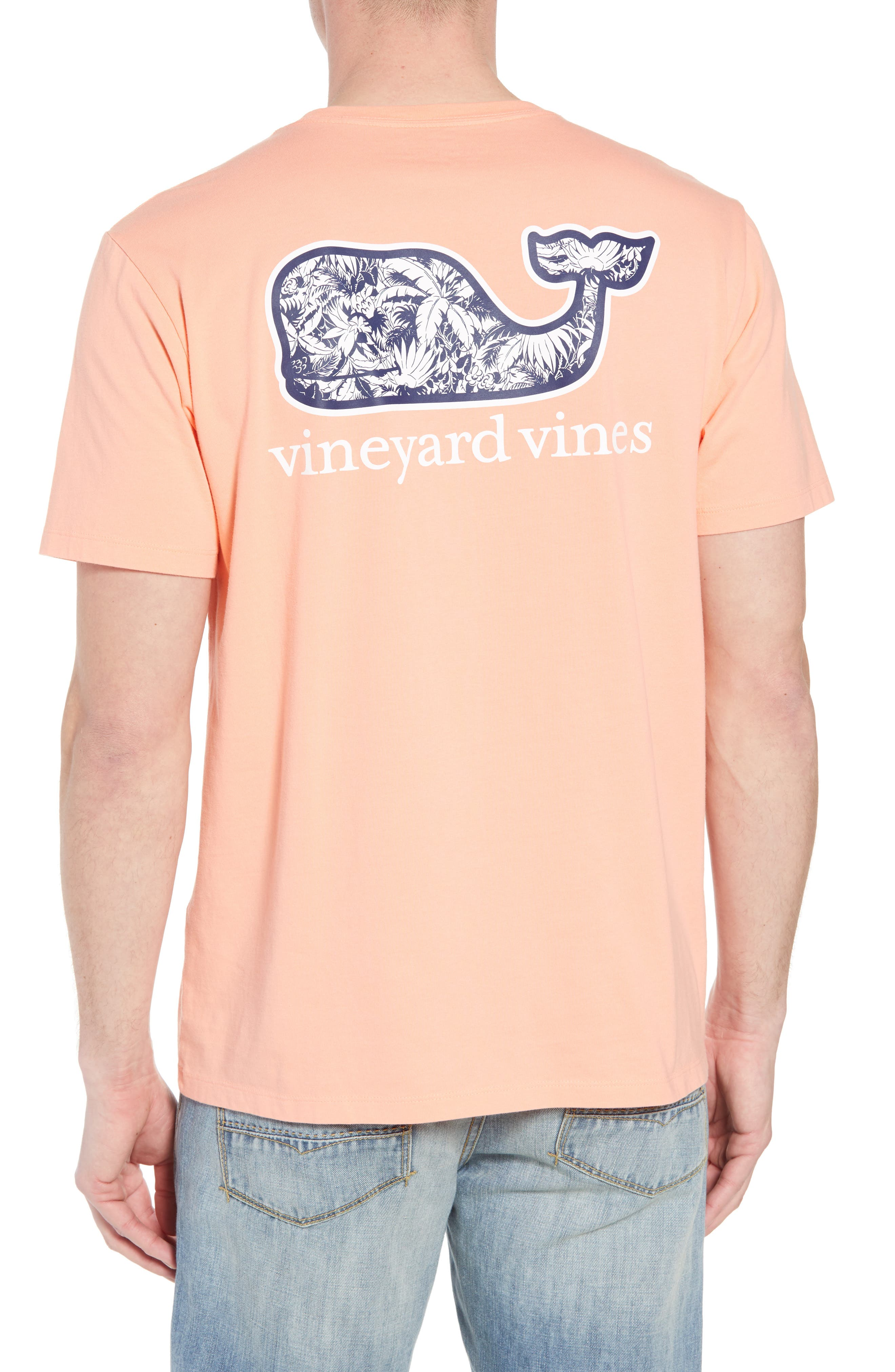 Tropical Print Graphic T-Shirt,                             Alternate thumbnail 2, color,                             821