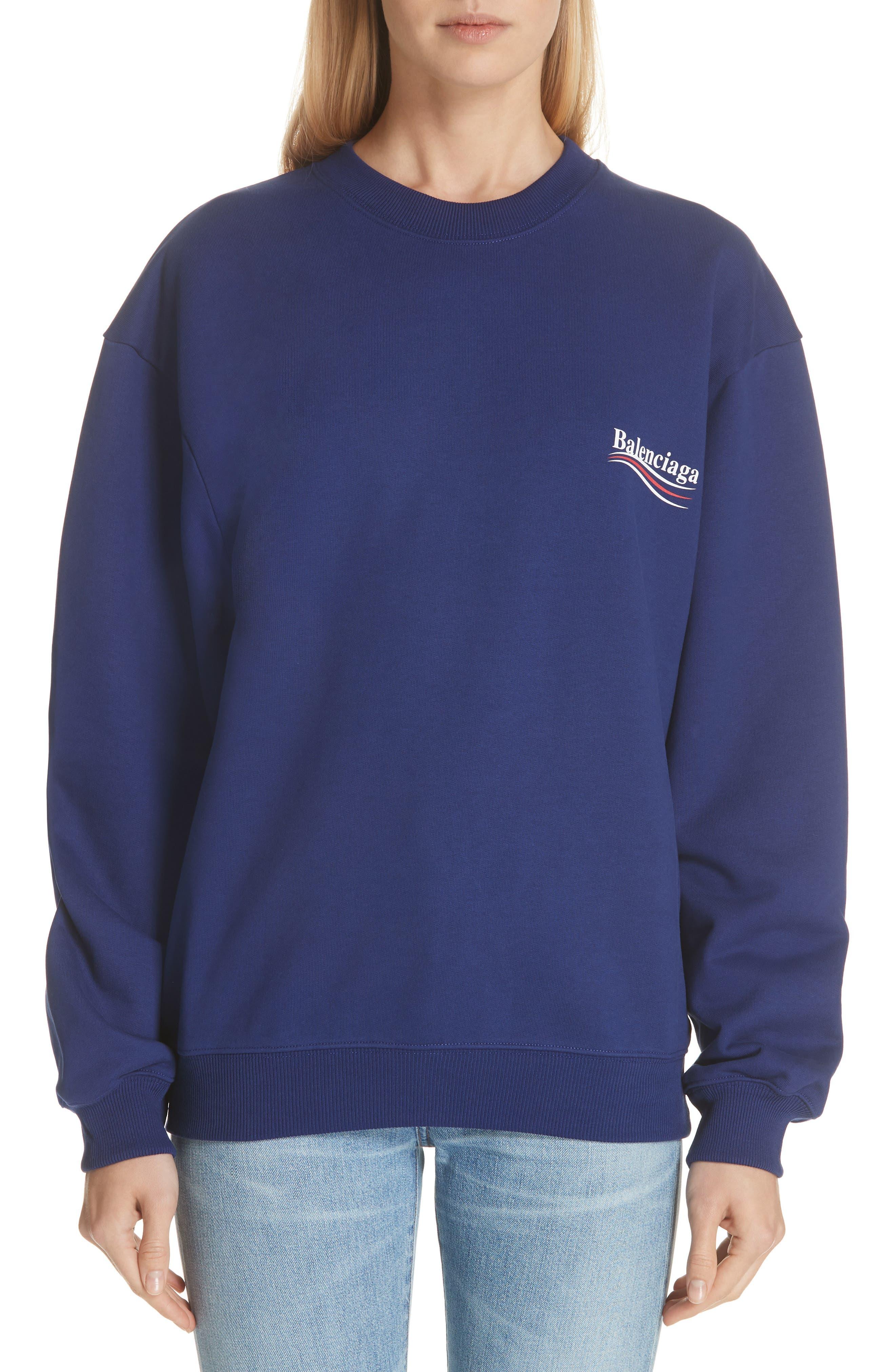 Campaign Logo Sweatshirt,                         Main,                         color, PACIFIQUE