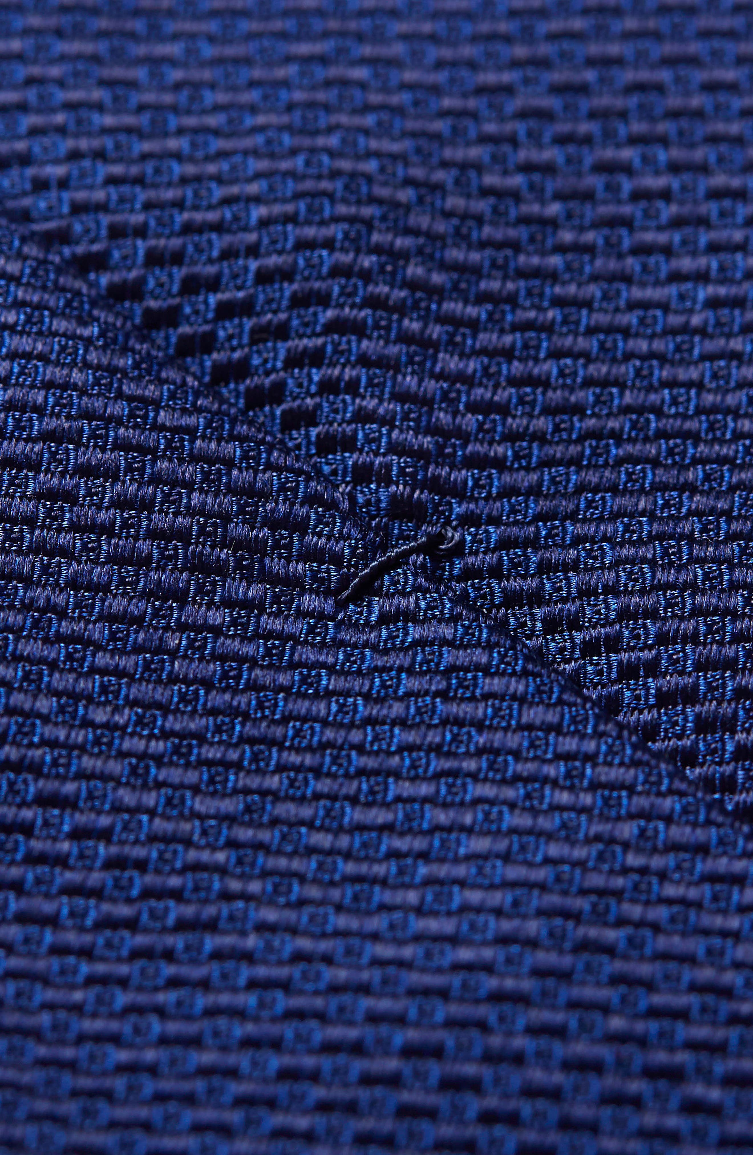 Solid Silk Tie,                             Alternate thumbnail 3, color,                             NAVY