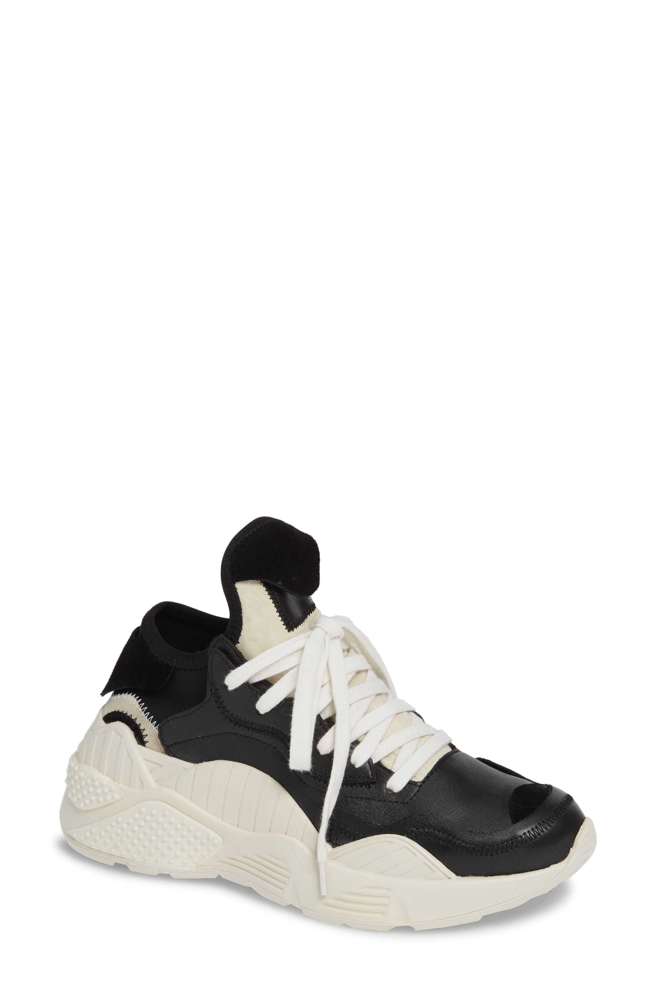 Jpeg Wedge Sneaker in Black Multi
