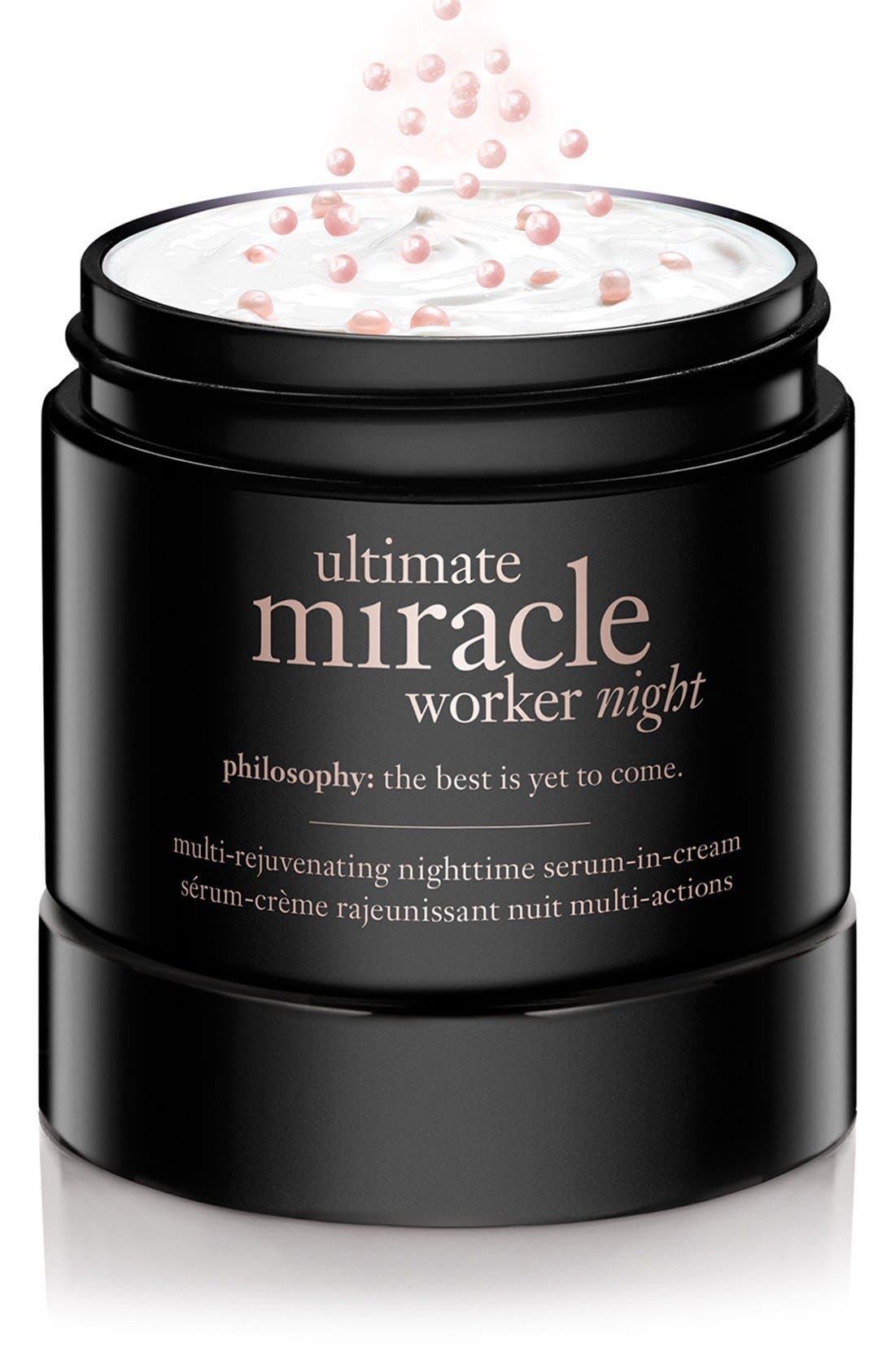 'ultimate miracle worker night' multi-rejuvenating nighttime serum-in-cream,                             Alternate thumbnail 3, color,                             NO COLOR