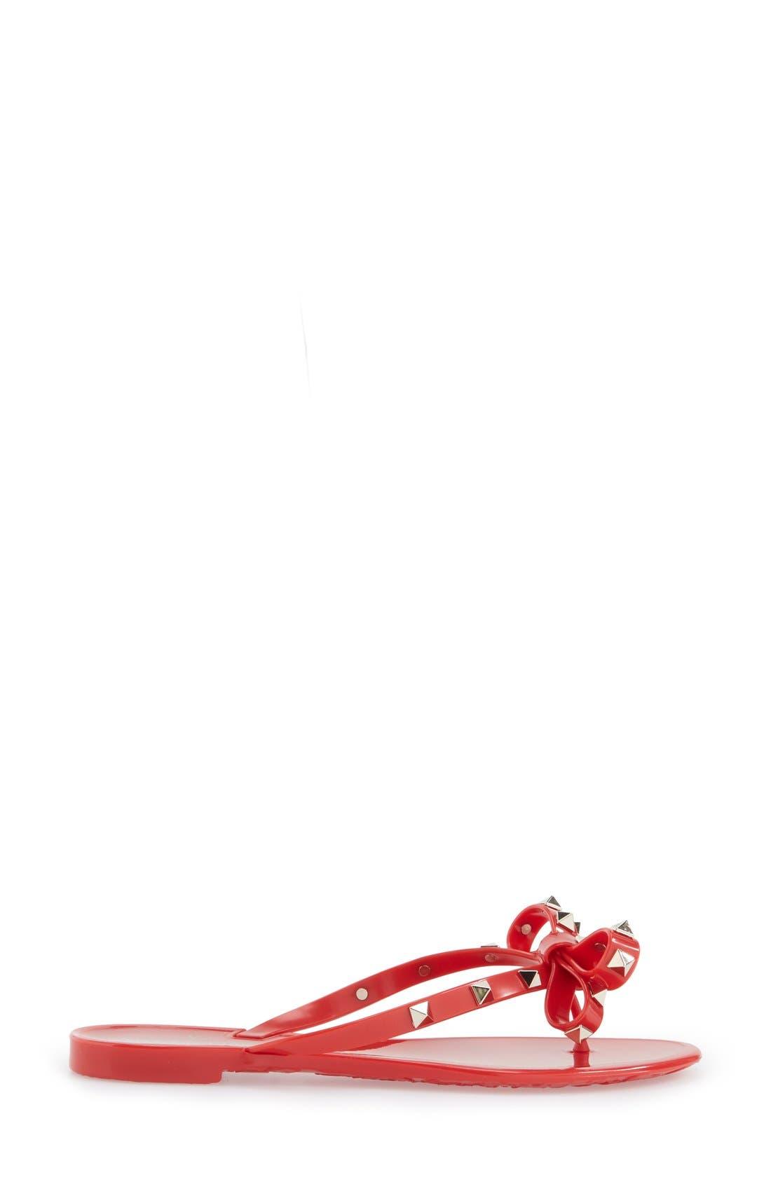'Rockstud' Flip Flop,                             Alternate thumbnail 106, color,