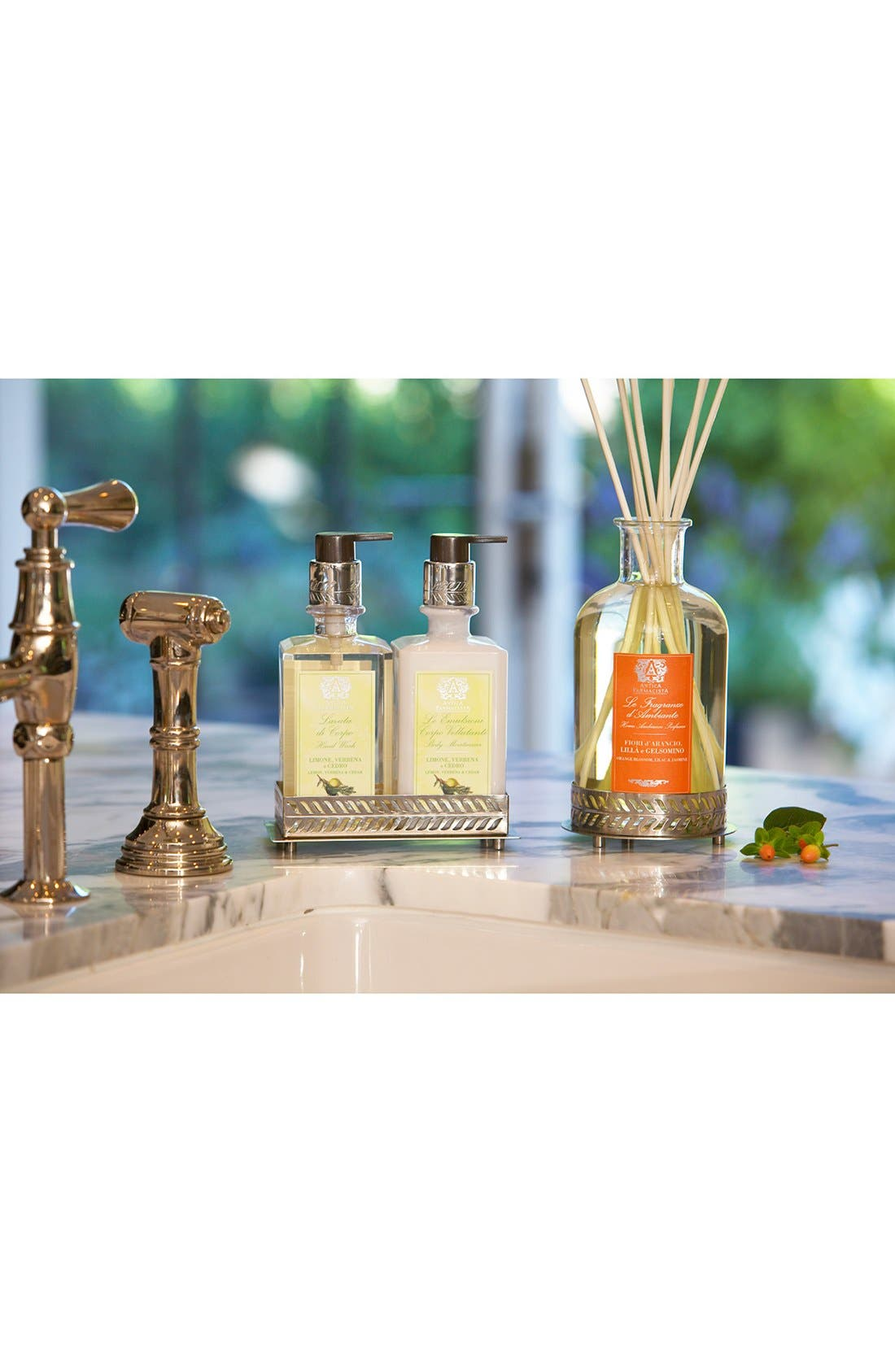 Nickel Home Ambiance Diffuser Tray,                             Alternate thumbnail 4, color,                             NO COLOR