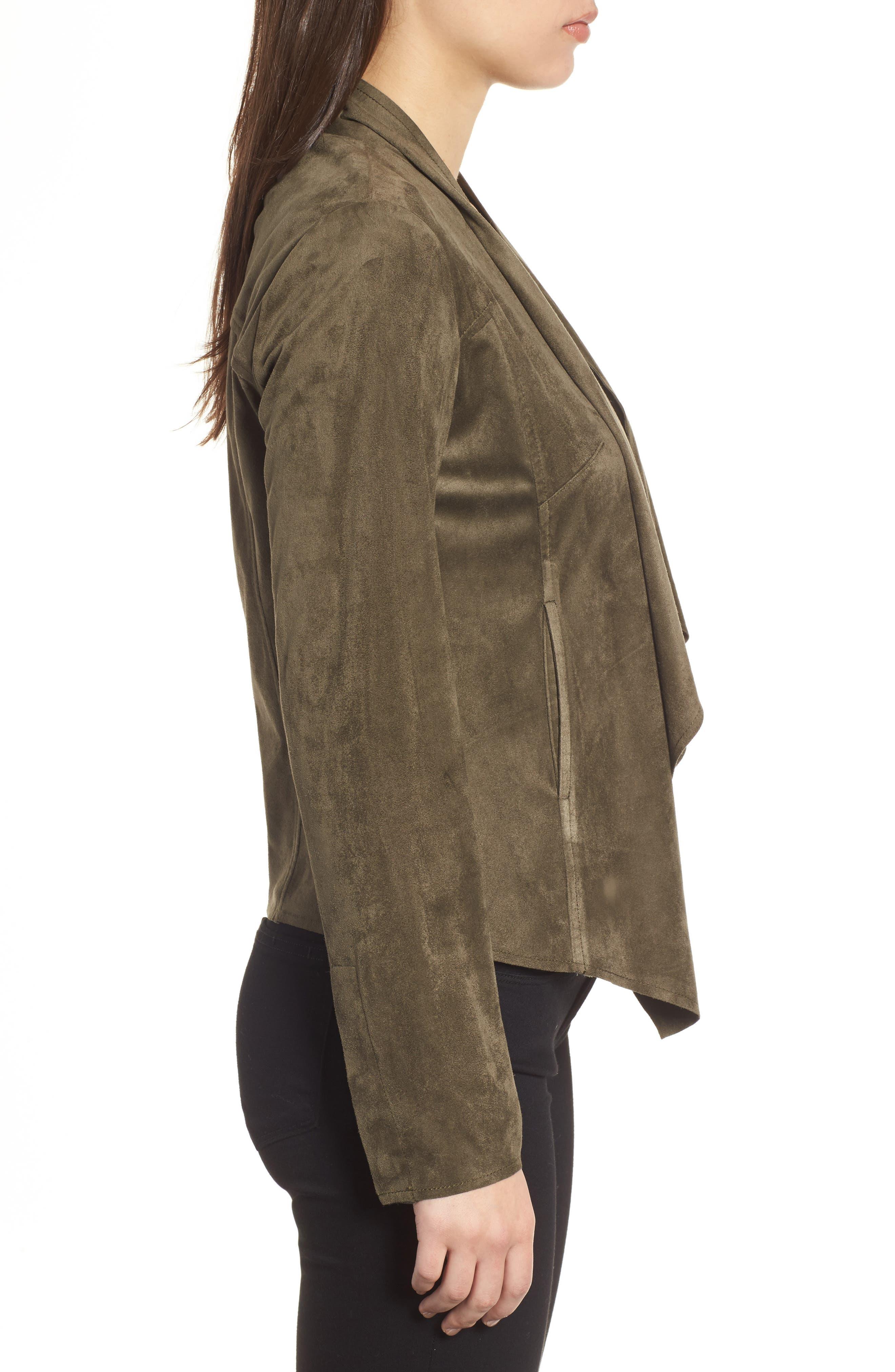 Tayanita Faux Suede Jacket,                             Alternate thumbnail 29, color,