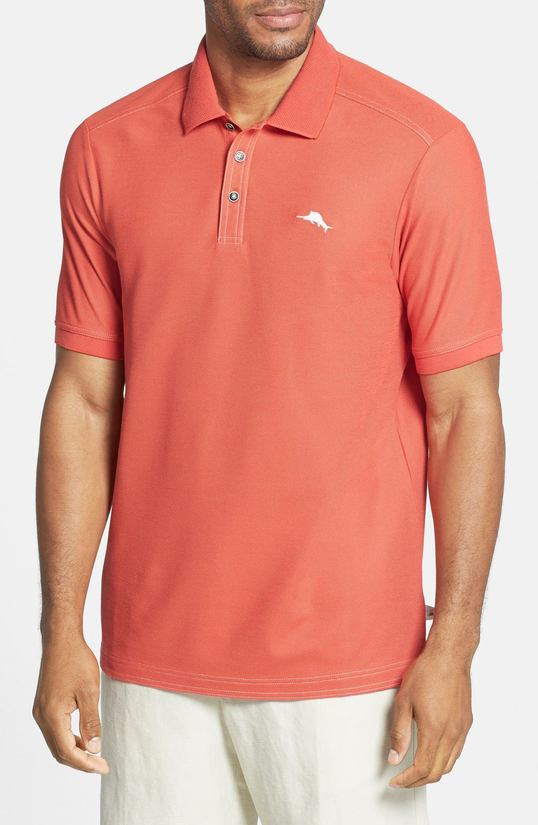 'The Emfielder' Original Fit Piqué Polo,                             Main thumbnail 101, color,