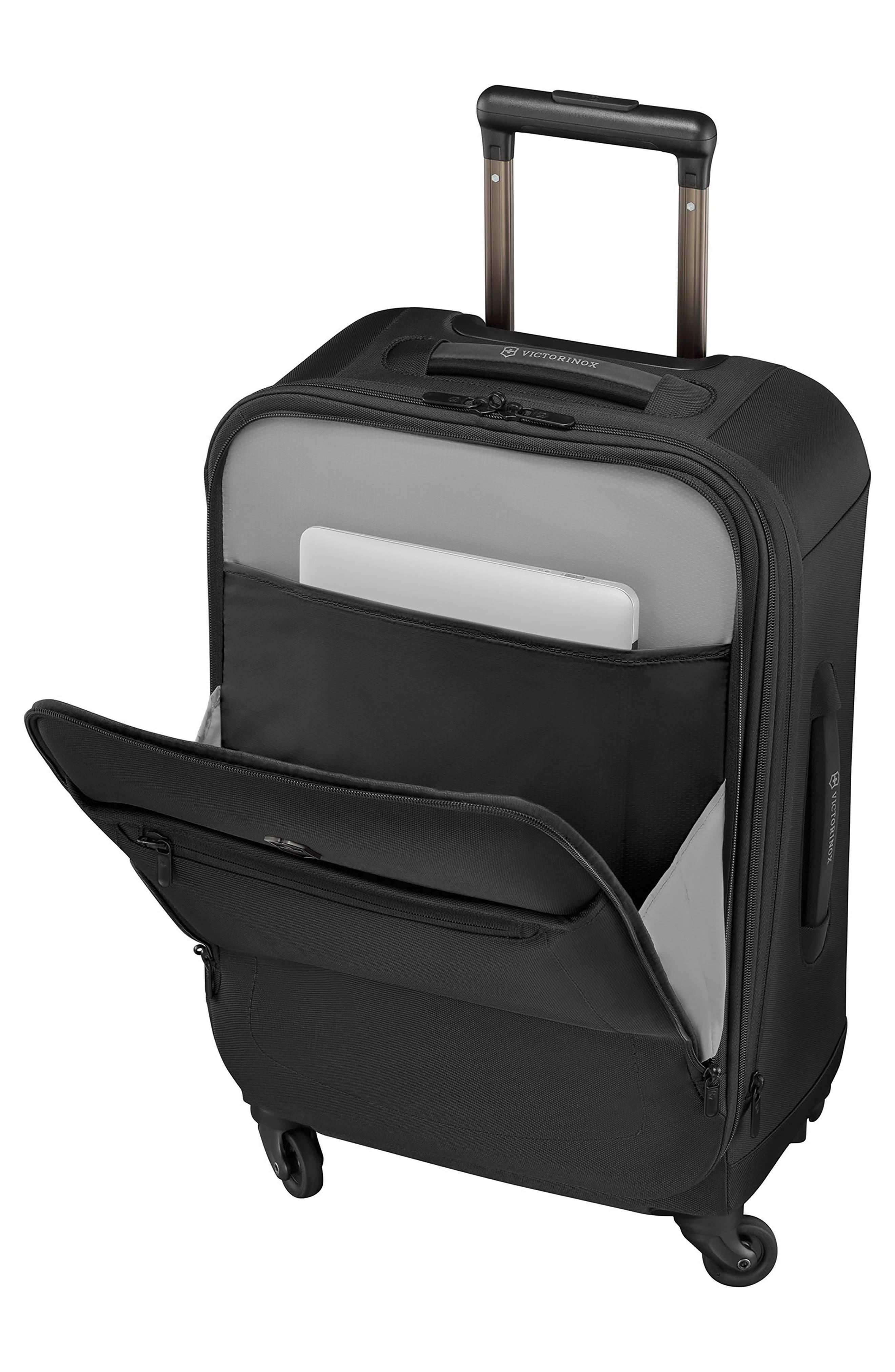 Avolve 3.0 24-Inch Large Wheeled Packing Case,                             Alternate thumbnail 4, color,                             BLACK