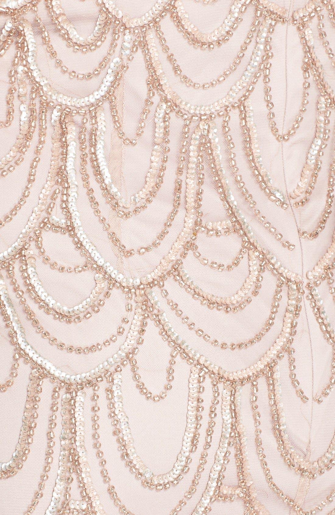 Beaded Sheath Dress,                             Alternate thumbnail 61, color,