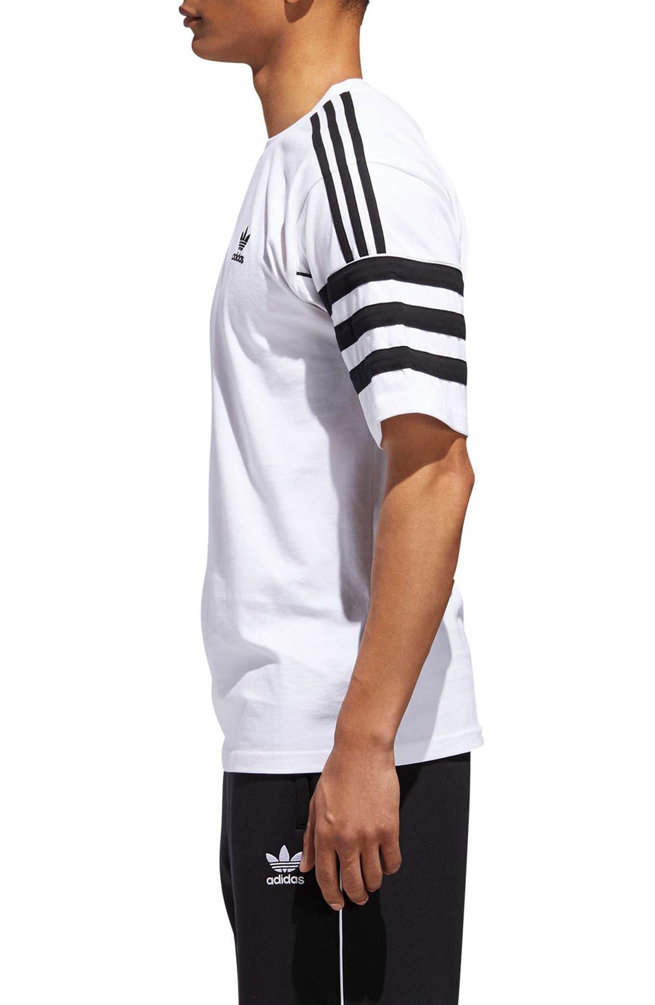Authentics Short Sleeve T-Shirt,                             Alternate thumbnail 3, color,                             100