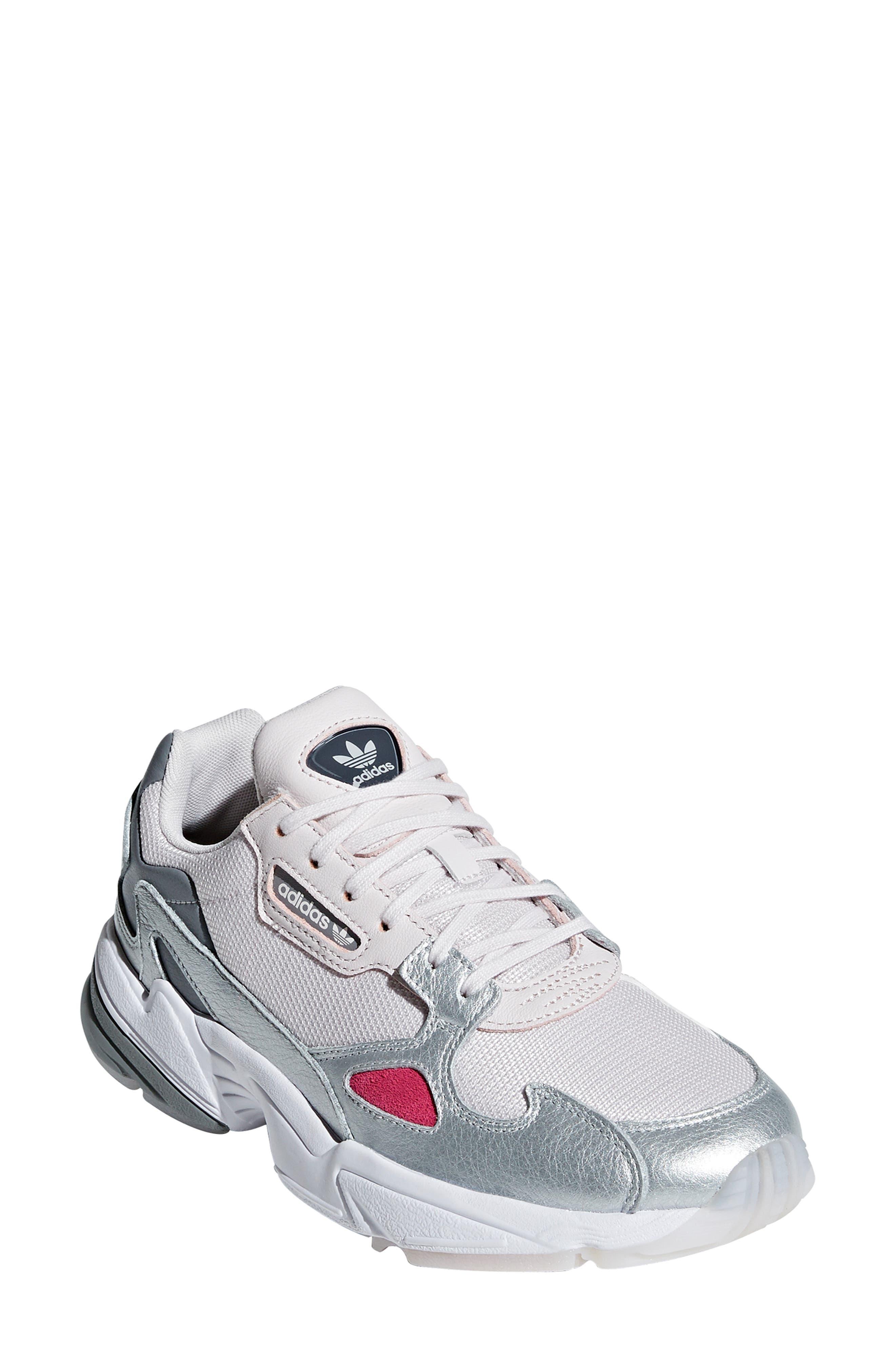 Falcon Sneaker,                         Main,                         color, ORCHID TINT/ SILVER