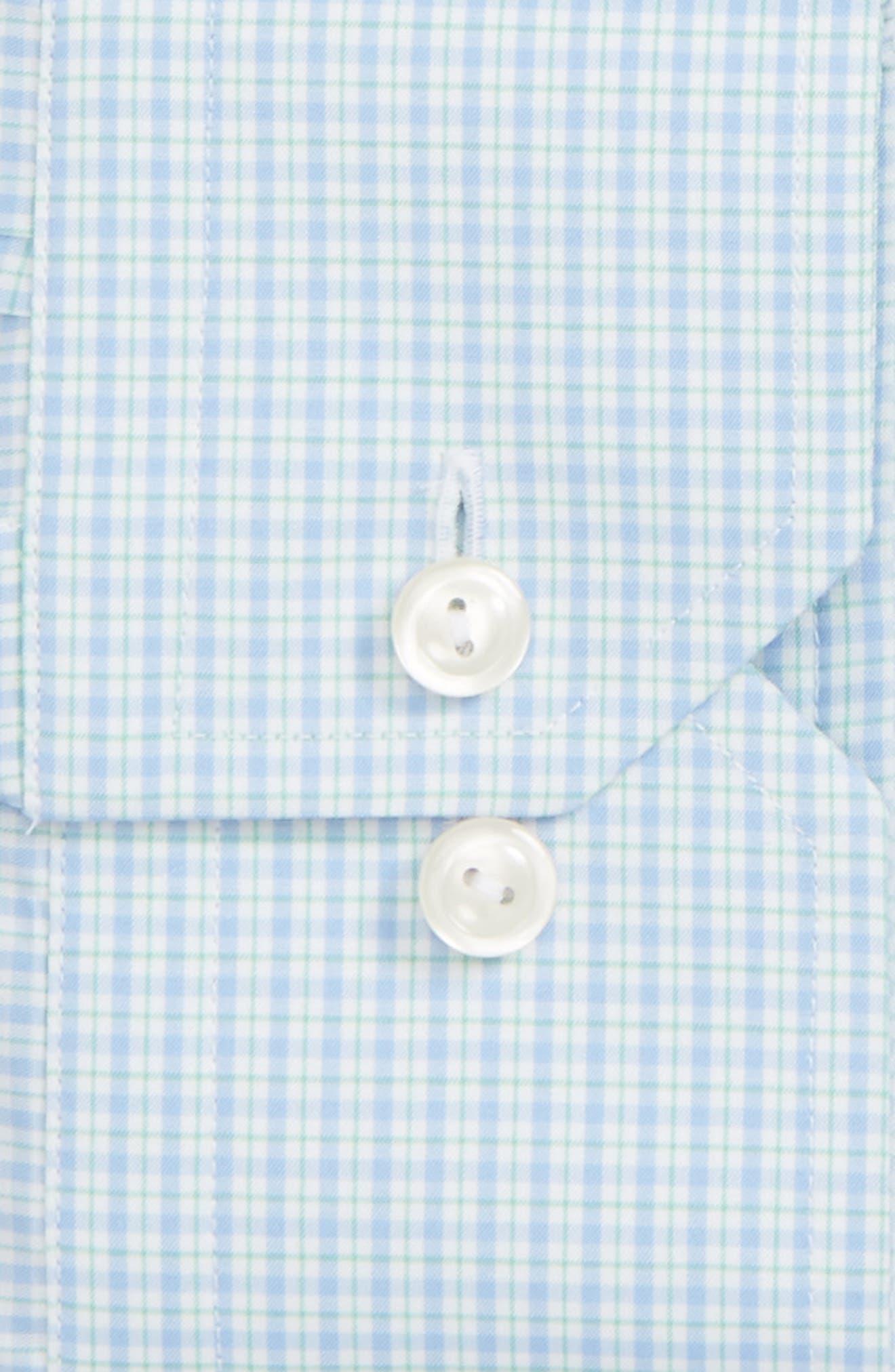 Contemporary Fit Check Dress Shirt,                             Main thumbnail 1, color,                             400
