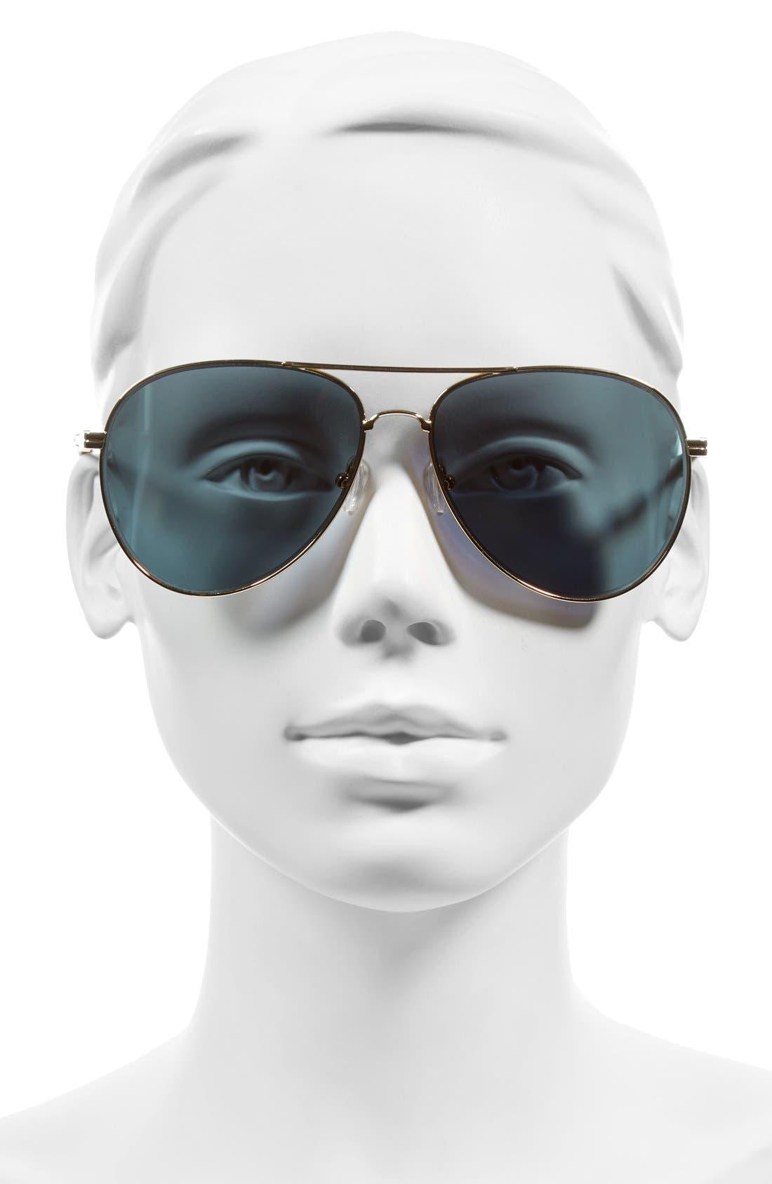 Lodi 62mm Mirrored Aviator Sunglasses,                             Alternate thumbnail 18, color,