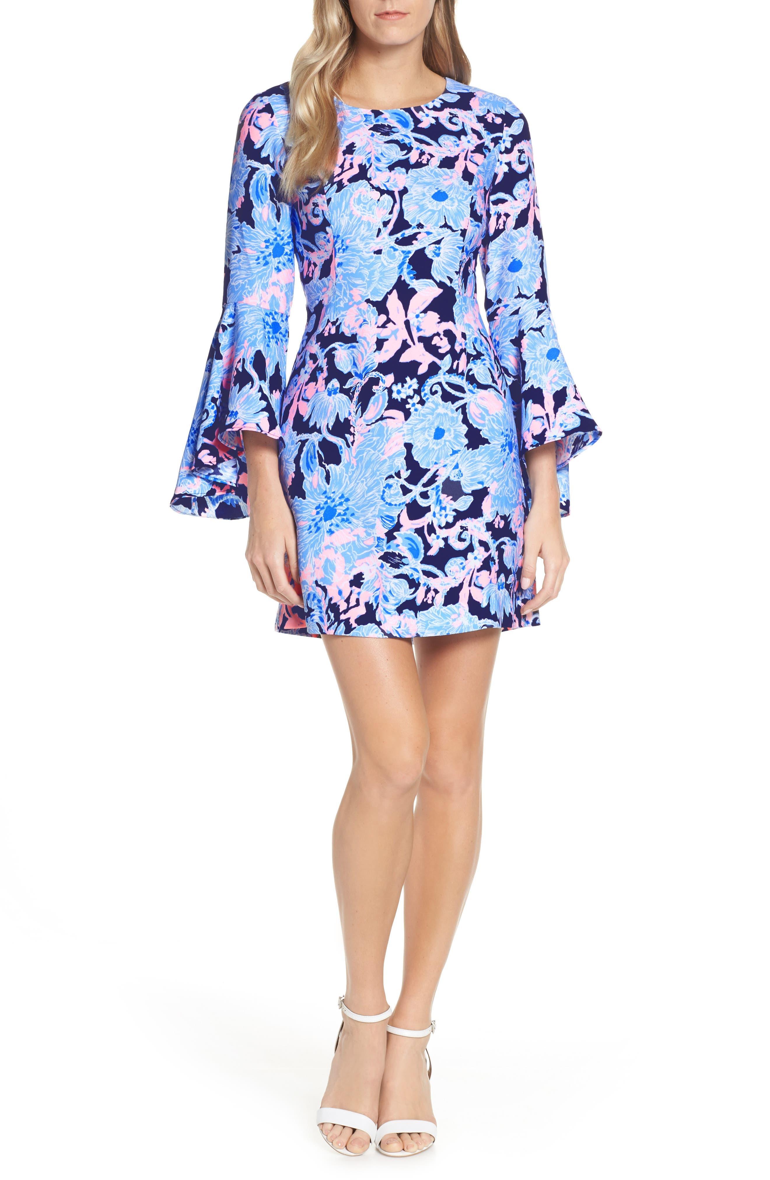 Lilly Pulitzer Kayla Sheath Dress, Blue