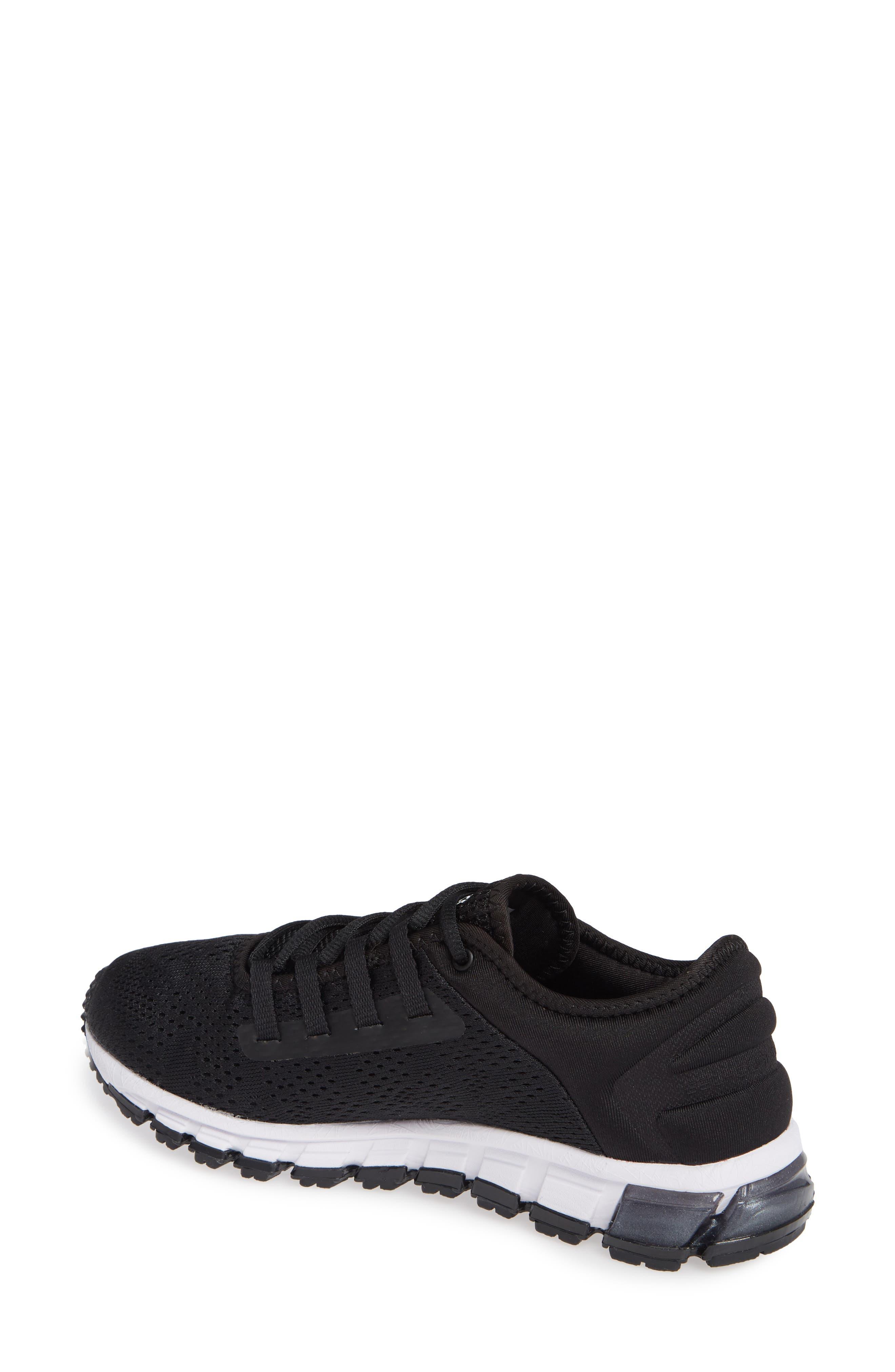 GEL Quantum 180 3 Running Shoe,                             Alternate thumbnail 2, color,                             BLACK/ WHITE