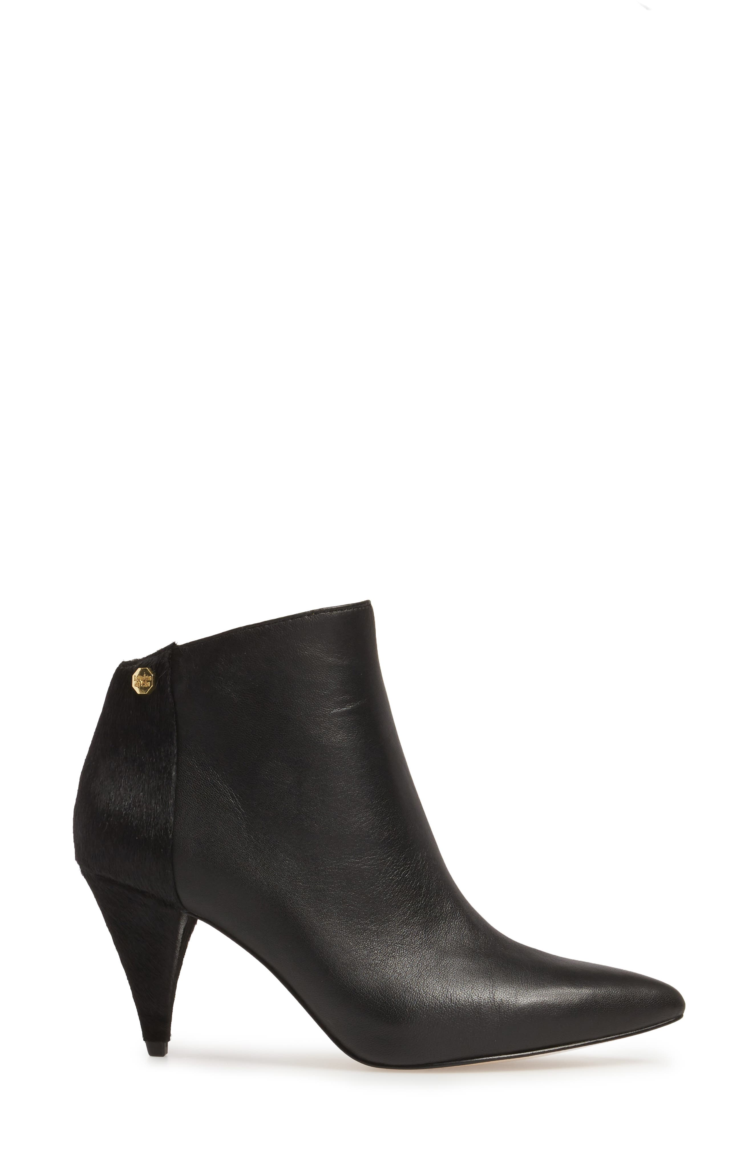 Warley Pointy Toe Bootie,                             Alternate thumbnail 7, color,