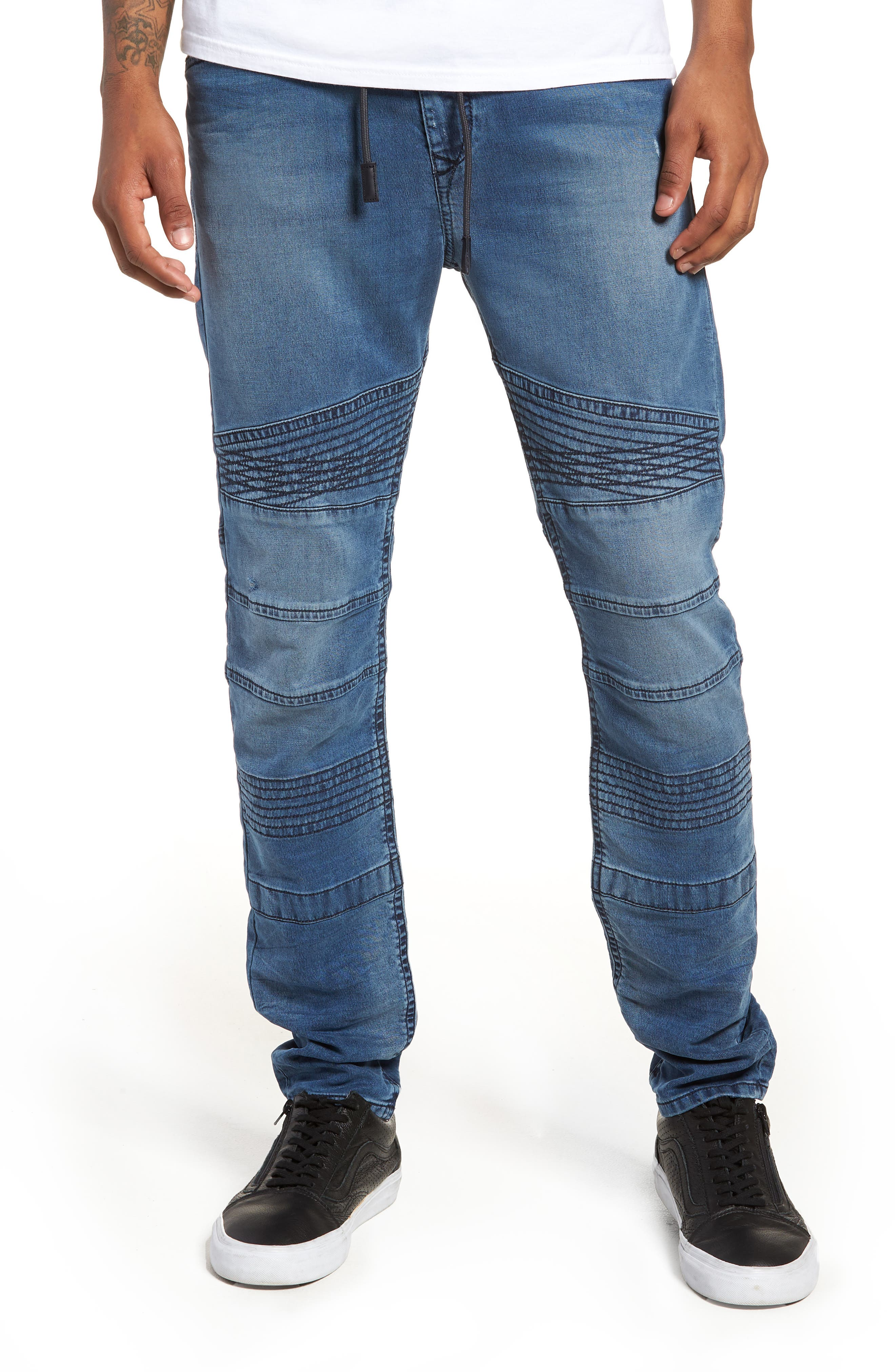 Bakari Skinny Fit Jeans,                             Main thumbnail 1, color,                             400
