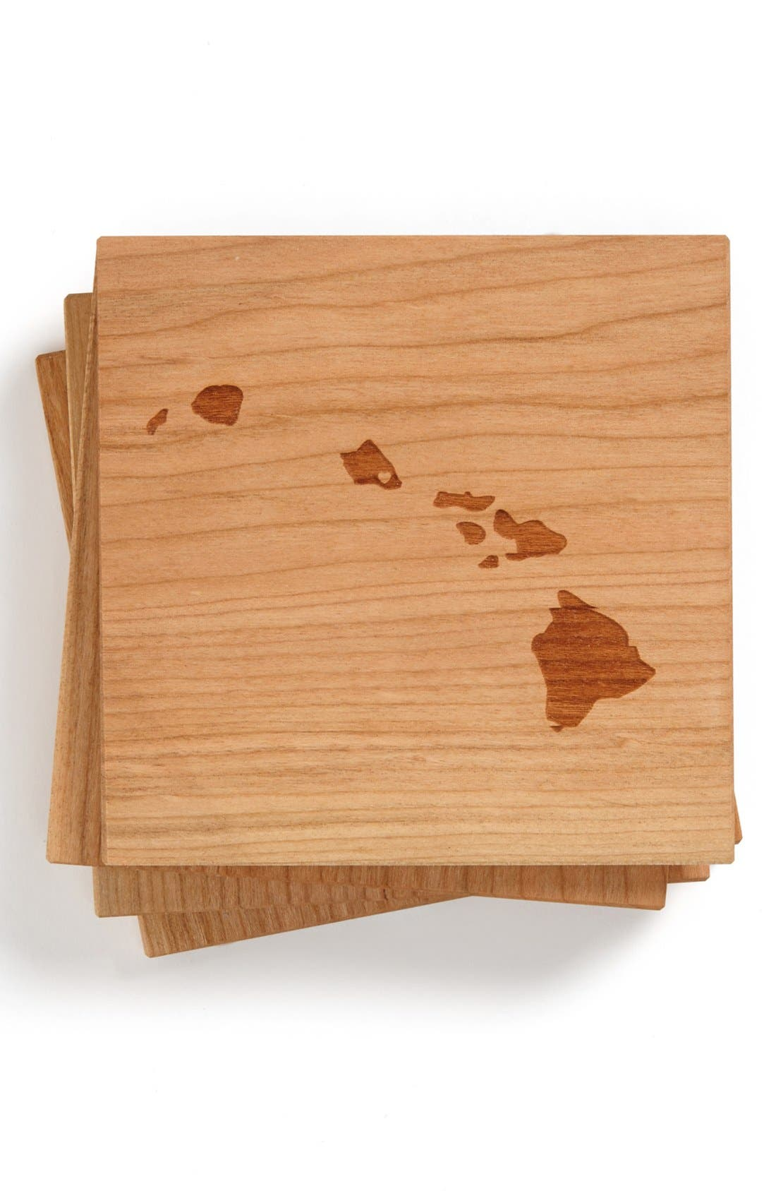 'State Silhouette' Coasters,                             Main thumbnail 14, color,