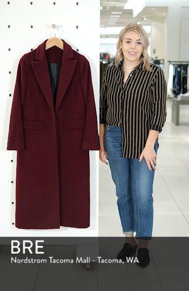 Wool Blend Menswear Coat, sales video thumbnail