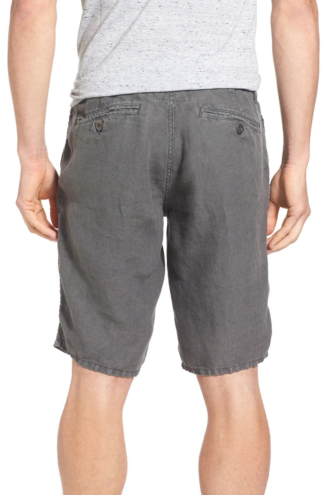 'Havana' Linen Shorts,                             Alternate thumbnail 29, color,