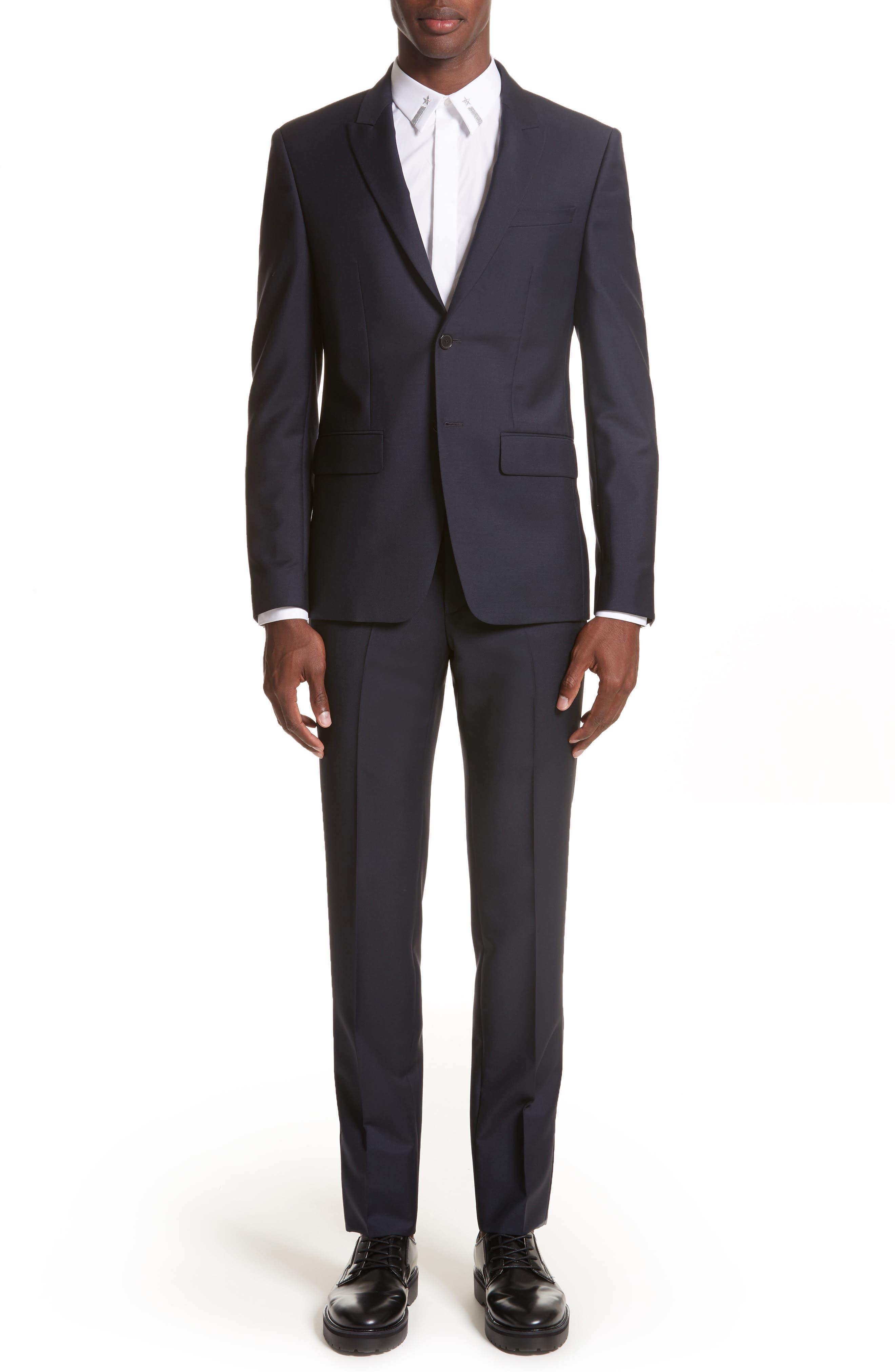 Wool & Mohair Suit,                             Main thumbnail 1, color,                             403
