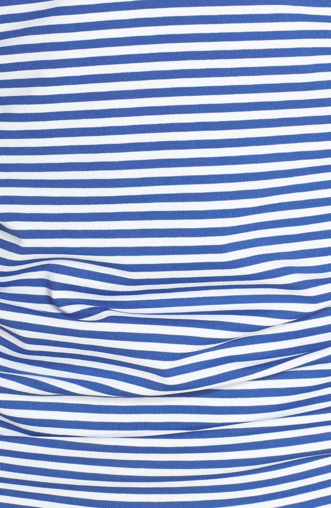 Reversible Halter Tankini Top,                             Alternate thumbnail 6, color,                             DARK BLUE