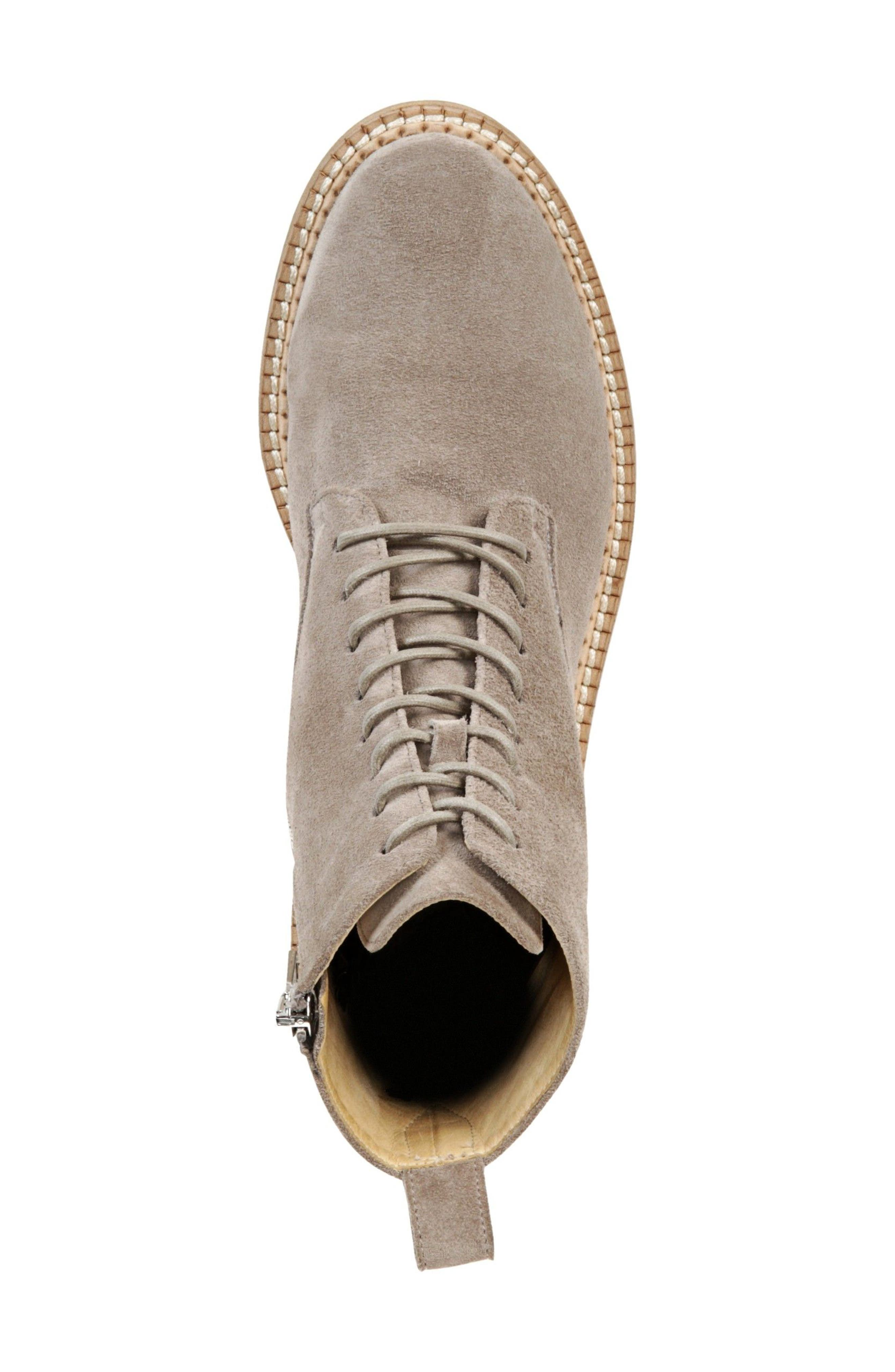 Cabria Lace-Up Boot,                             Alternate thumbnail 5, color,                             LIGHT WOODSMOKE