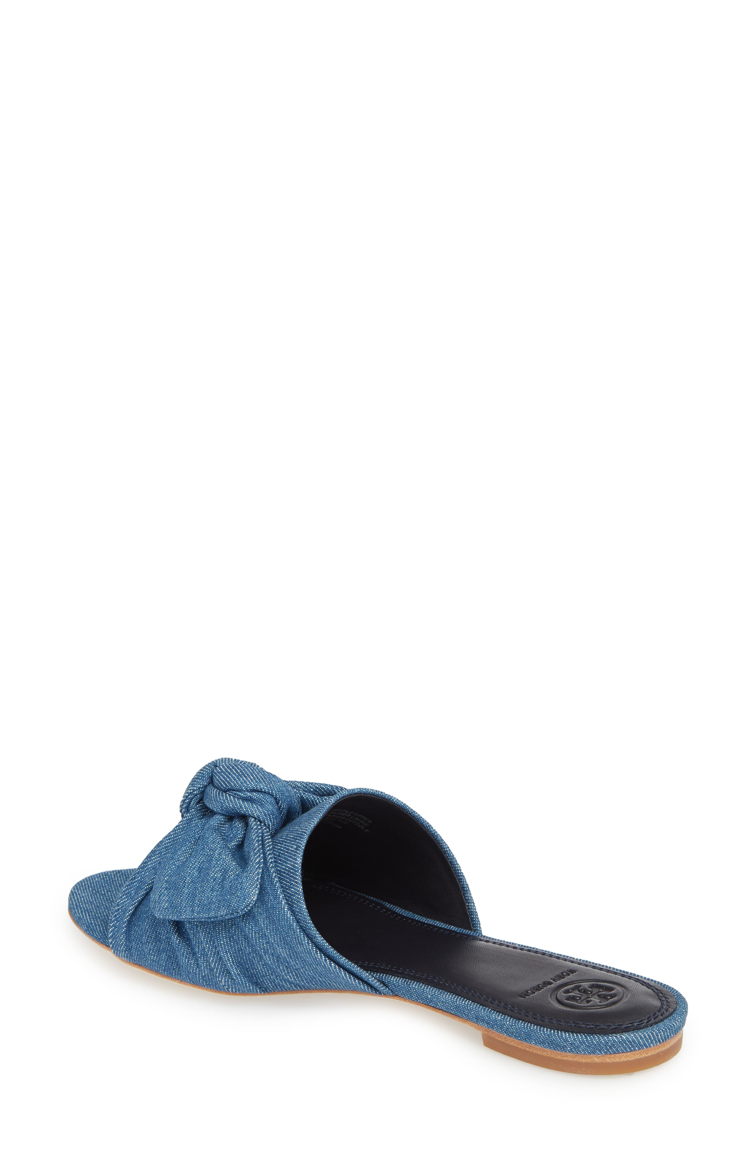 Annabelle Bow Slide Sandal,                             Alternate thumbnail 5, color,