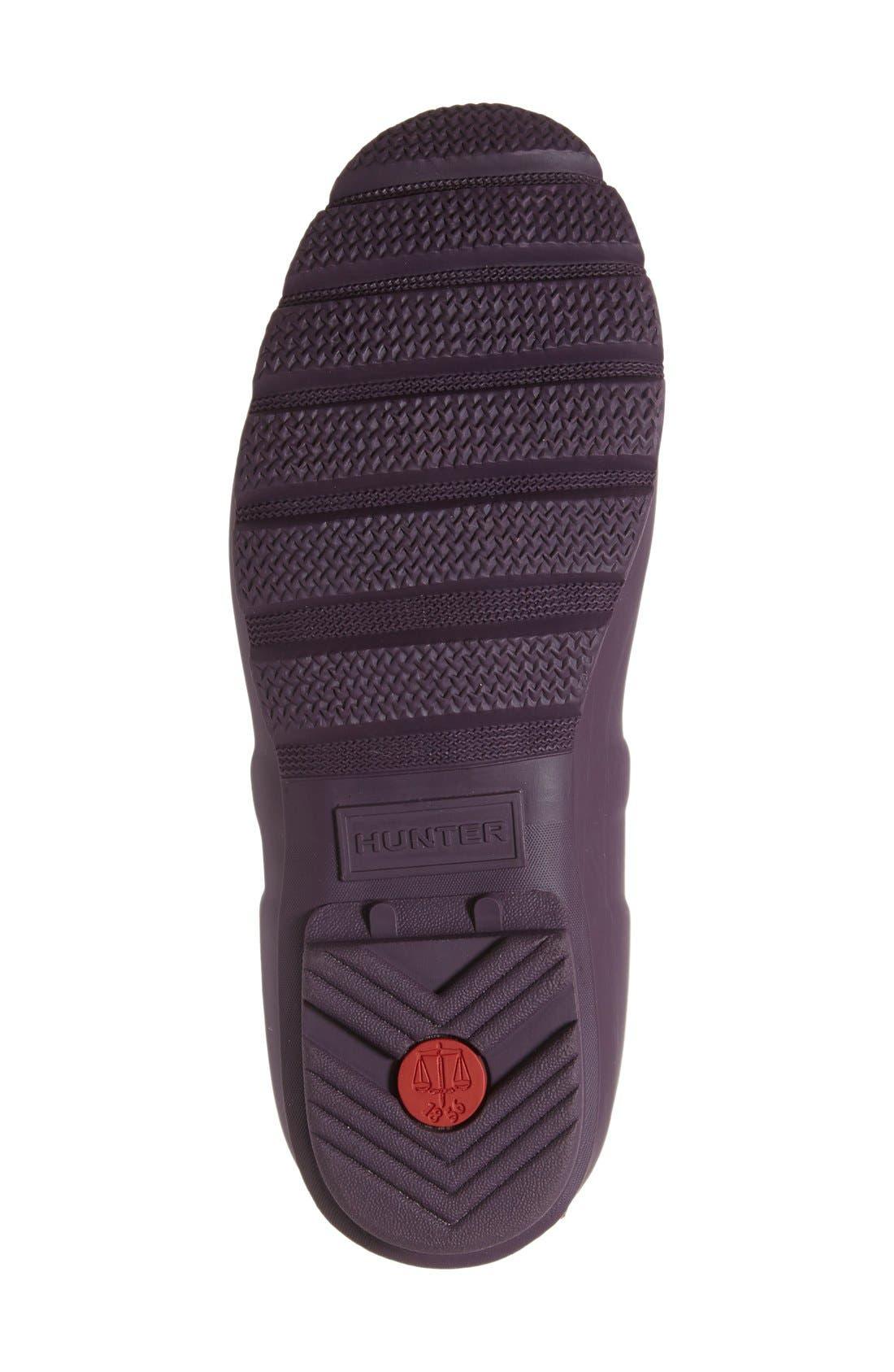 Original Short Back Adjustable Rain Boot,                             Alternate thumbnail 55, color,