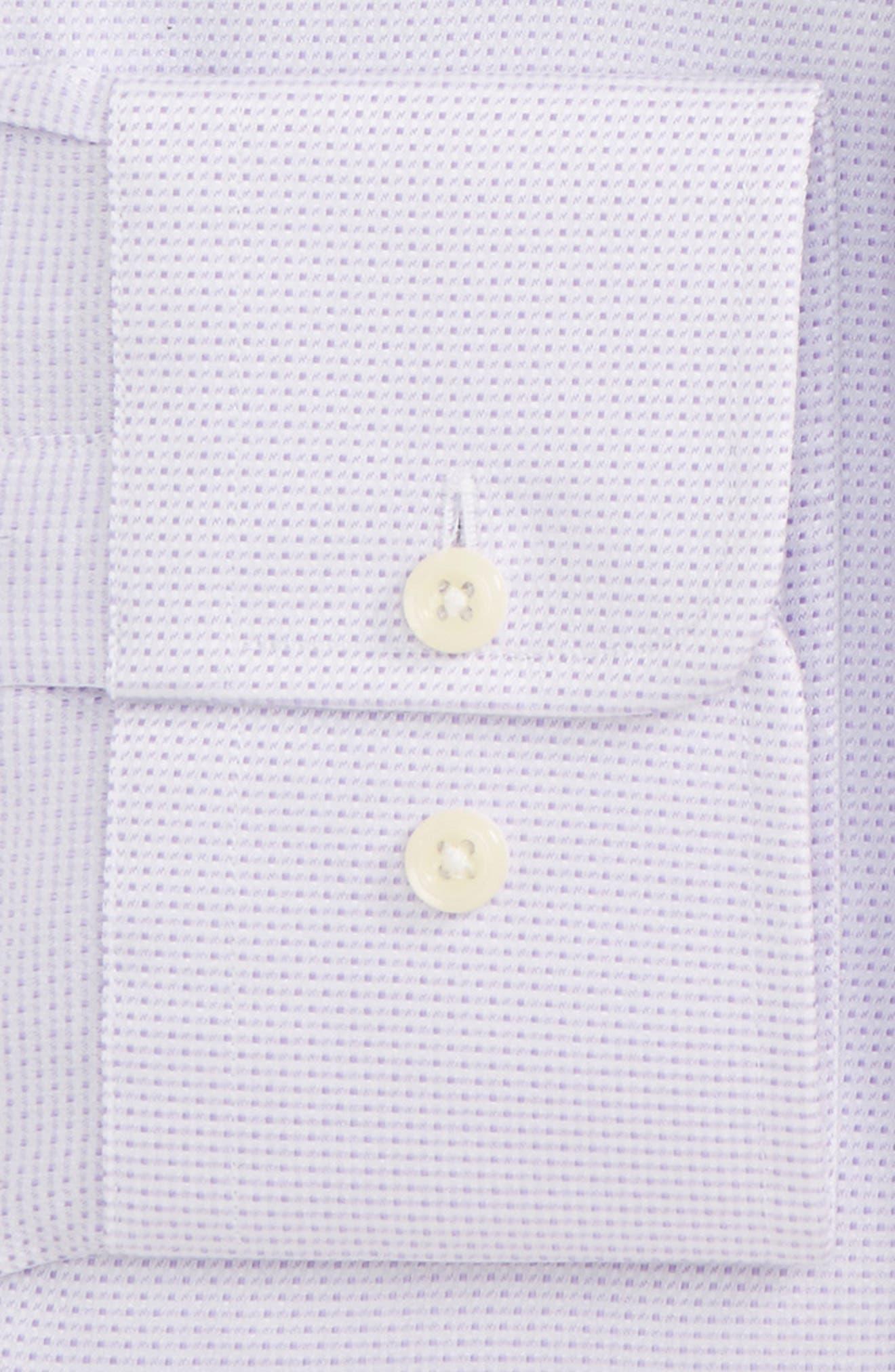 Slim Fit Dobby Dress Shirt,                             Alternate thumbnail 2, color,