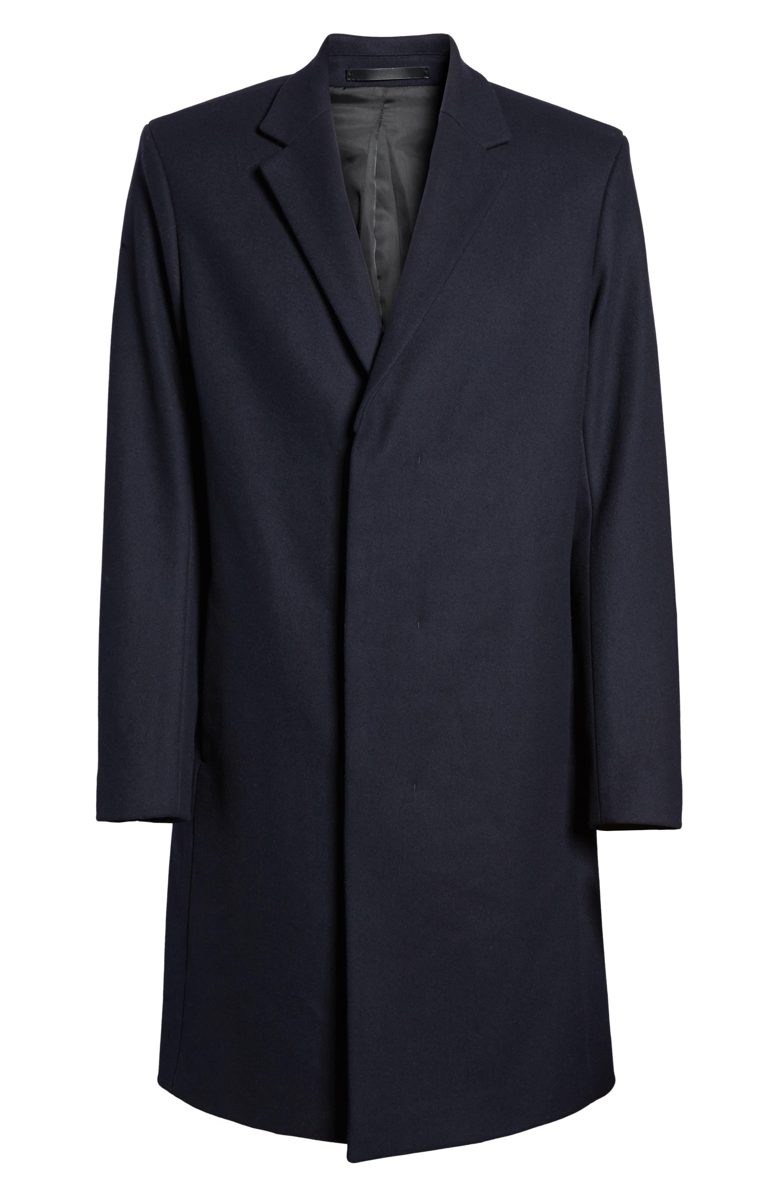 Bower Melton Wool Blend Topcoat,                             Alternate thumbnail 15, color,