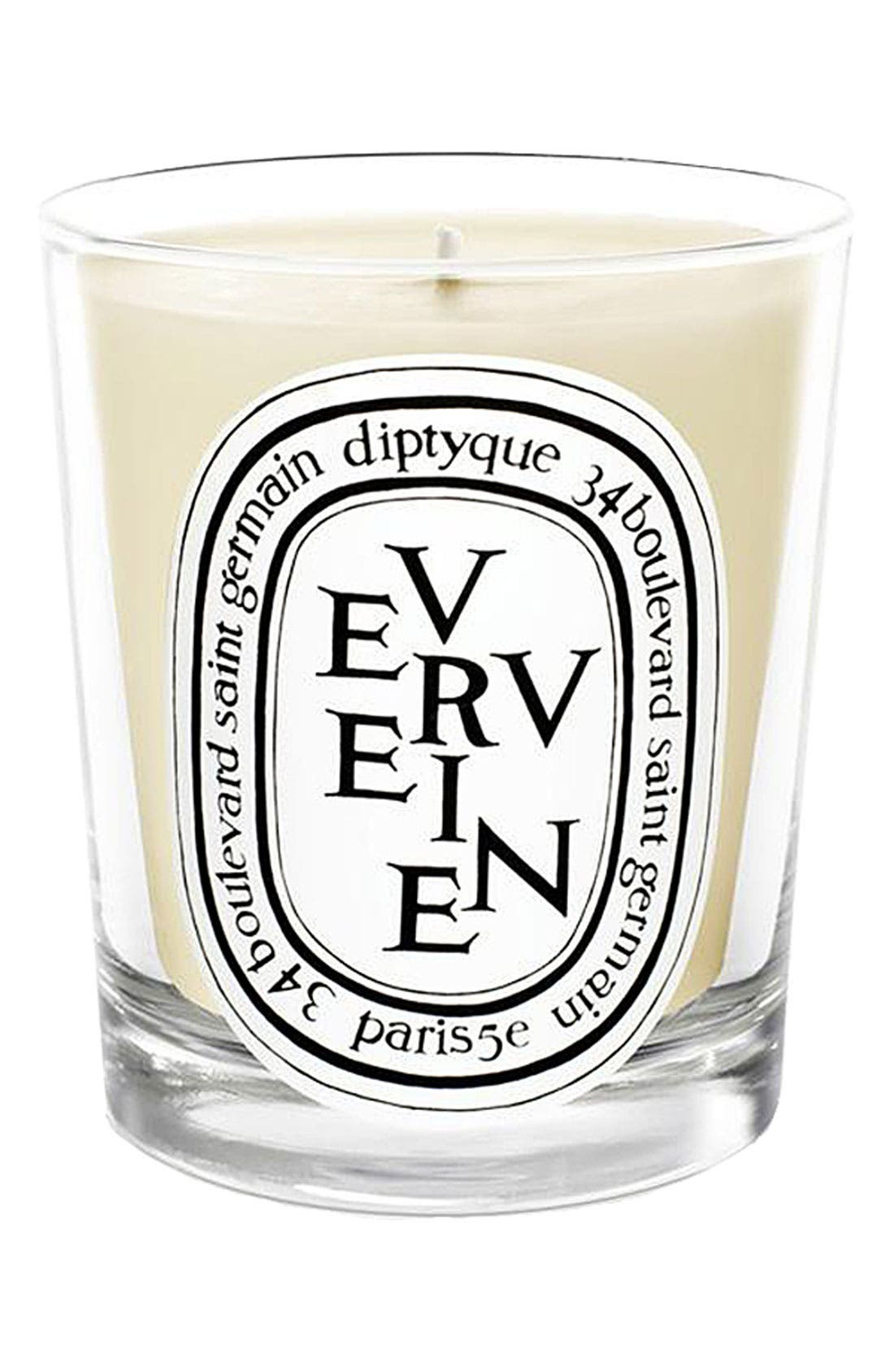 Verveine/Lemon Verbena Mini Scented Candle,                             Main thumbnail 1, color,                             NO COLOR