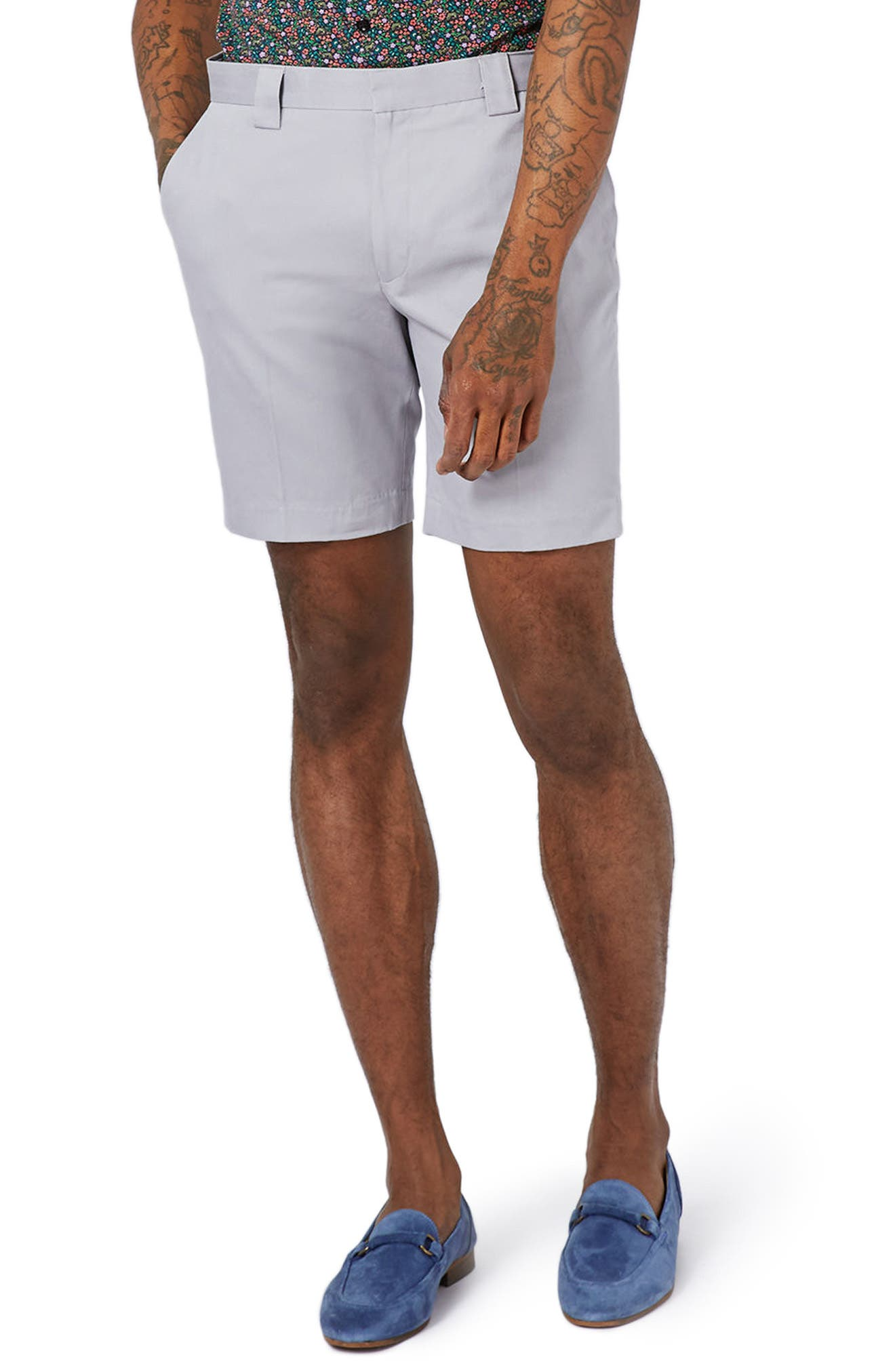 Twill Trouser Shorts,                             Main thumbnail 1, color,                             020