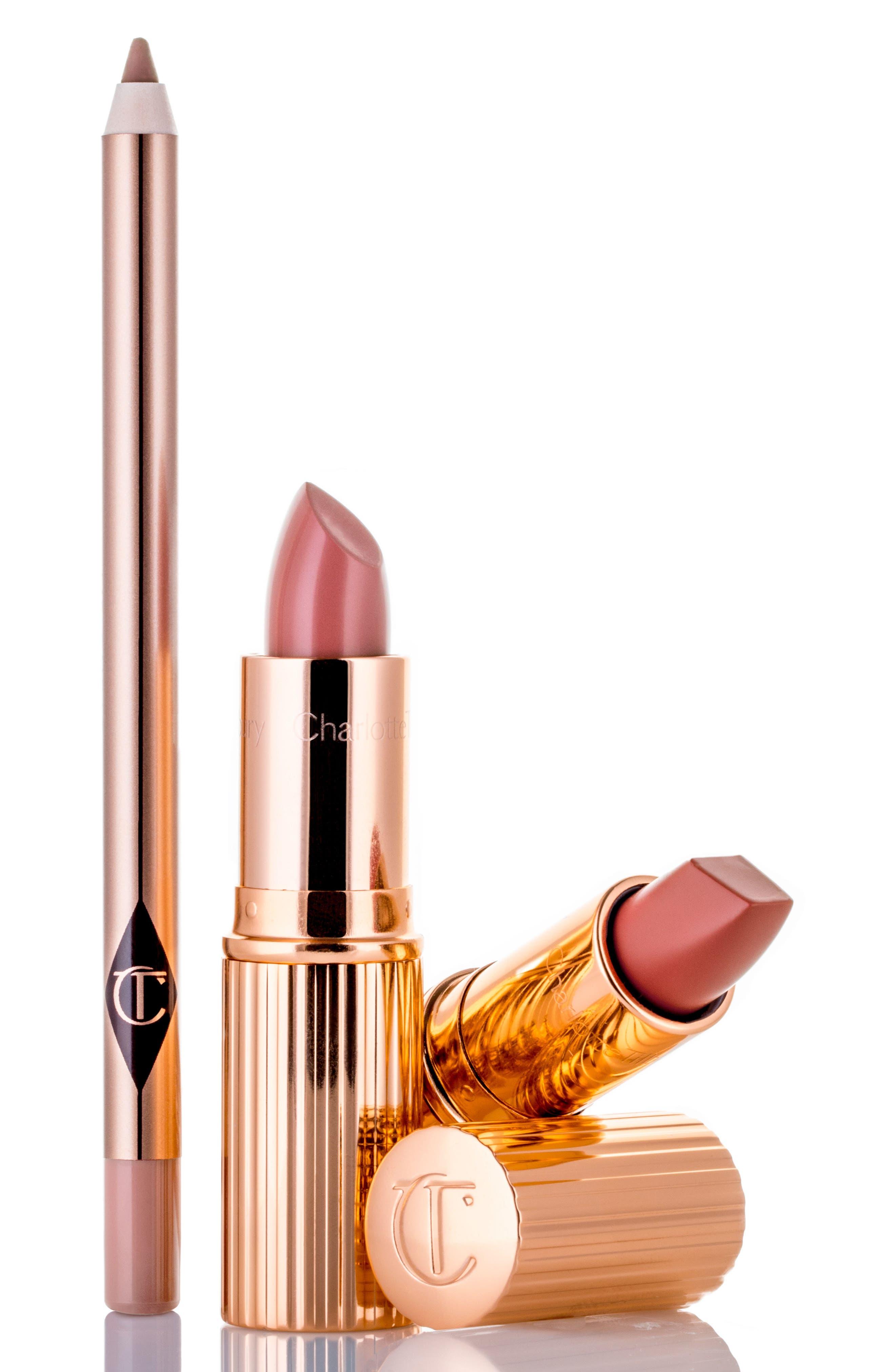 CHARLOTTE TILBURY The Pretty Pink Lipstick Set, Main, color, 000
