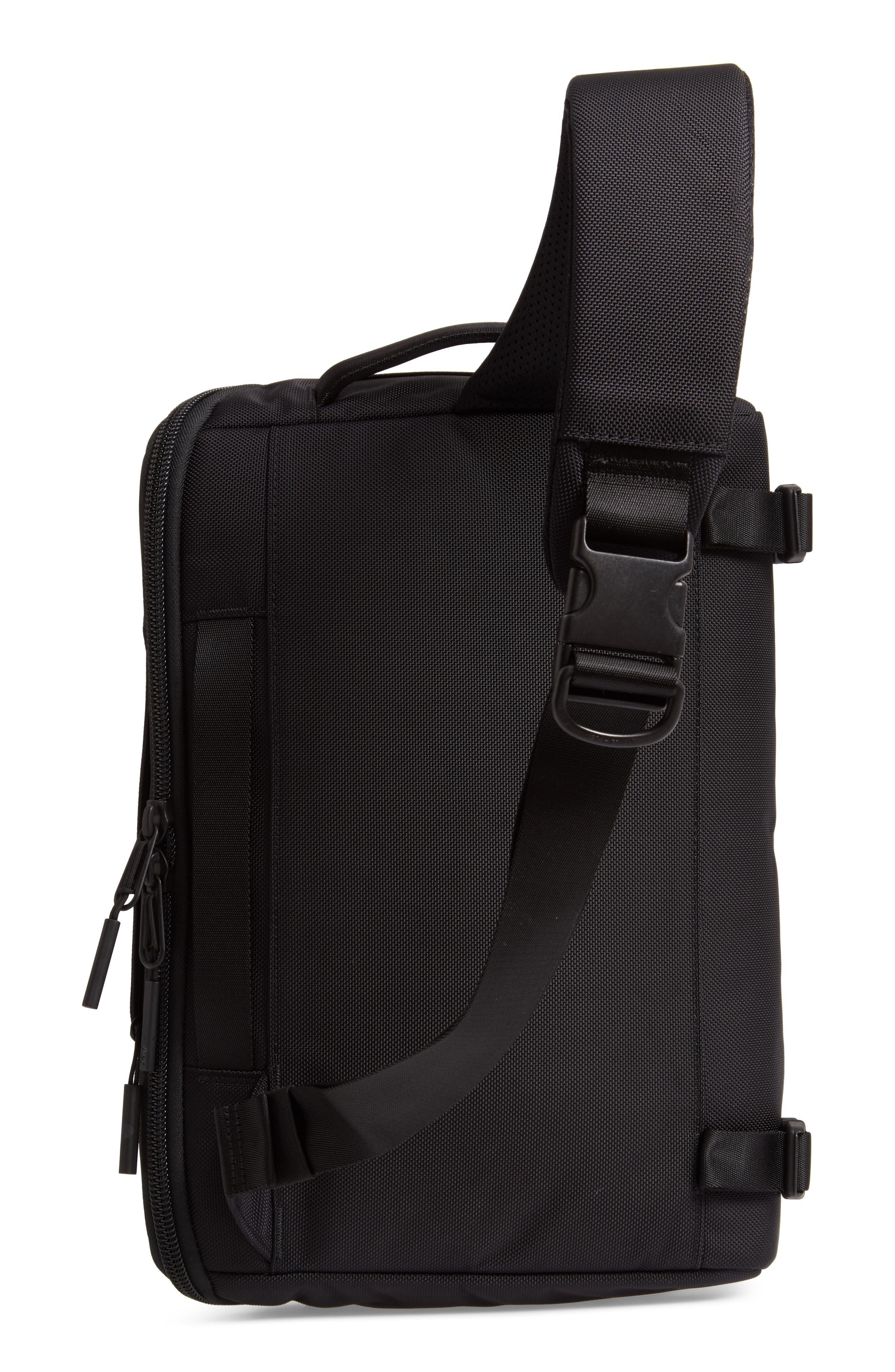 Travel Sling Crossbody Bag,                             Alternate thumbnail 3, color,                             BLACK