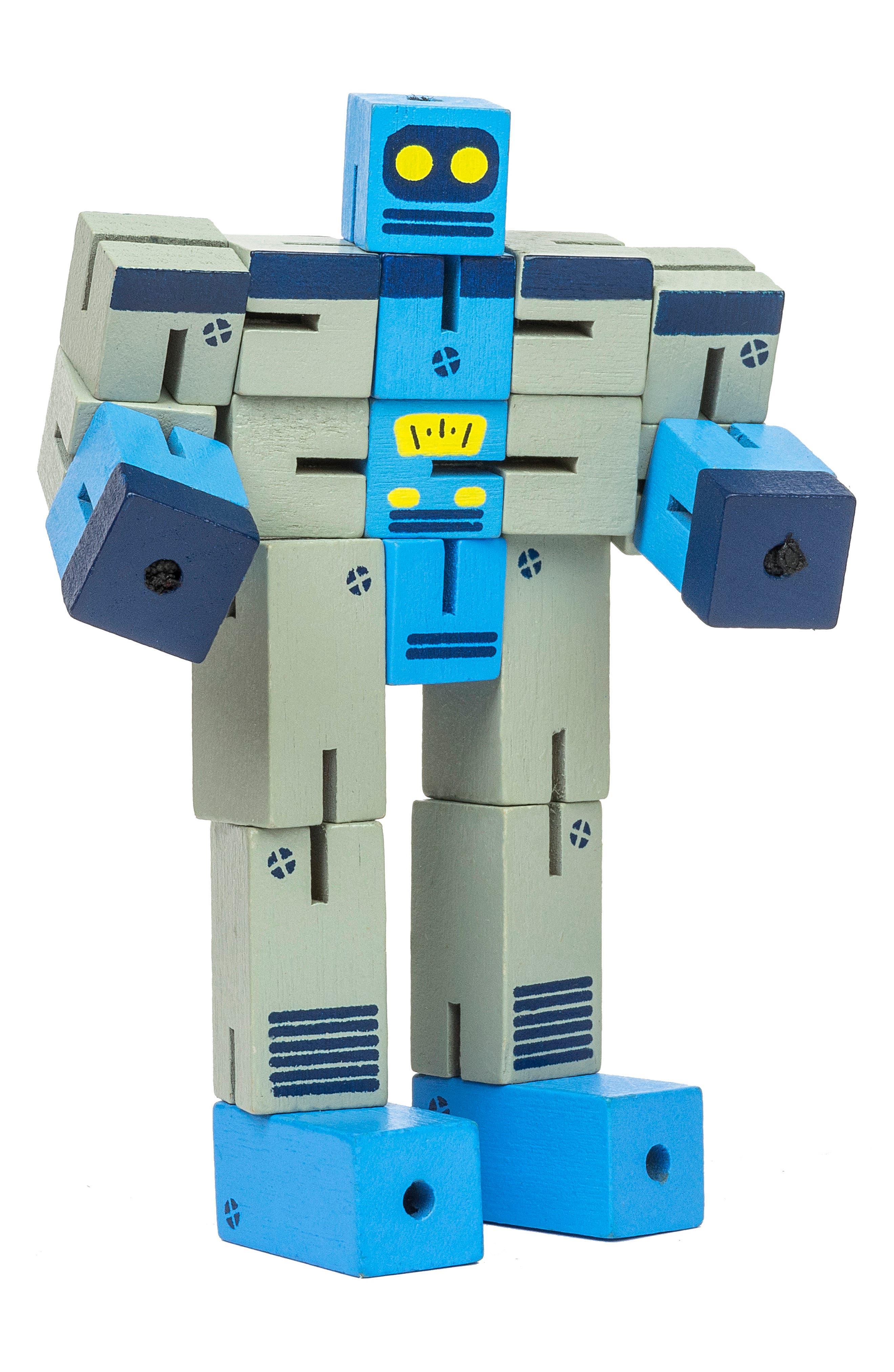 Planet Robot Puzzle,                             Main thumbnail 1, color,                             GREY