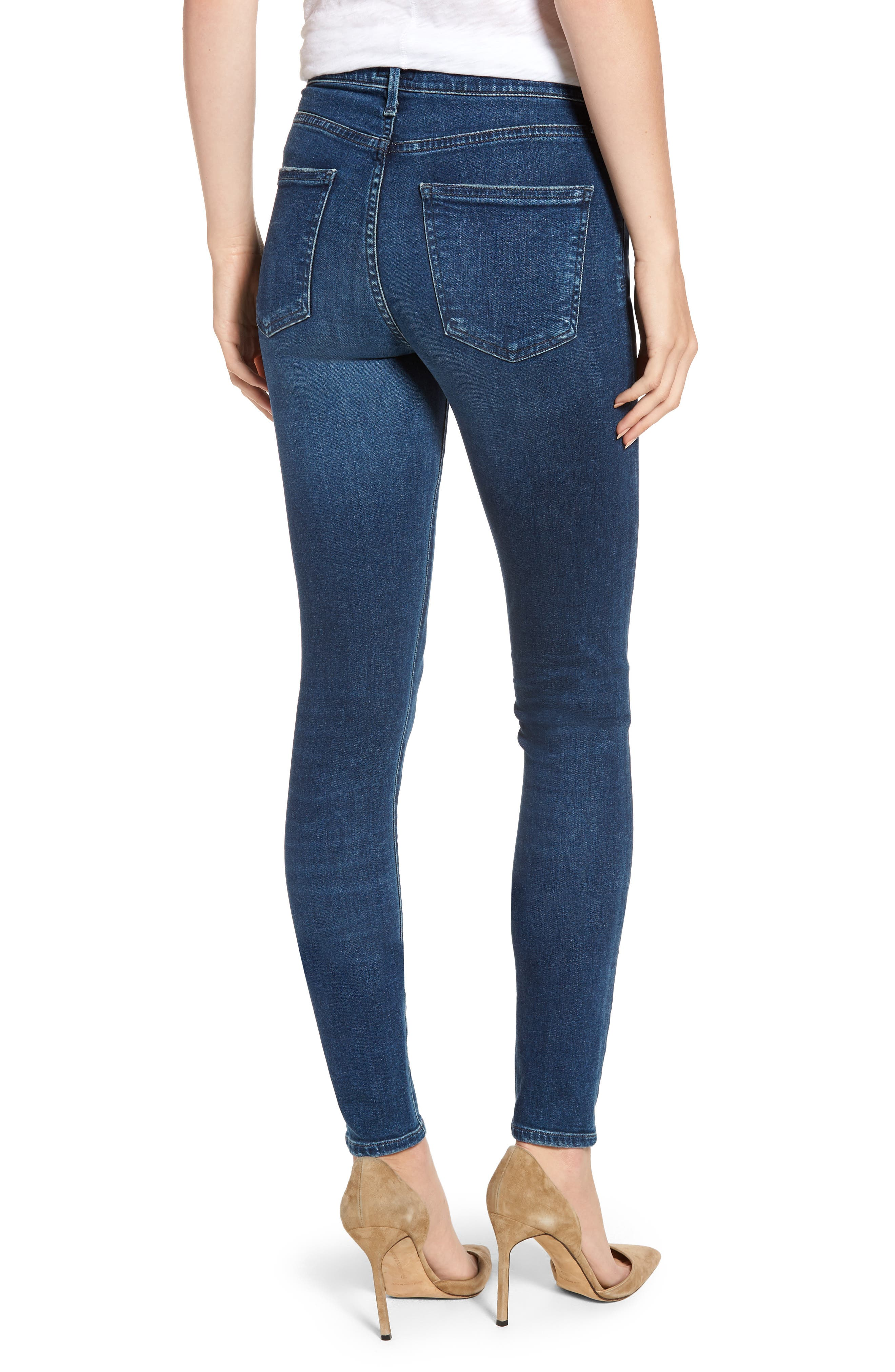 CITIZENS OF HUMANITY,                             Rocket Skinny Jeans,                             Alternate thumbnail 2, color,                             GLORY