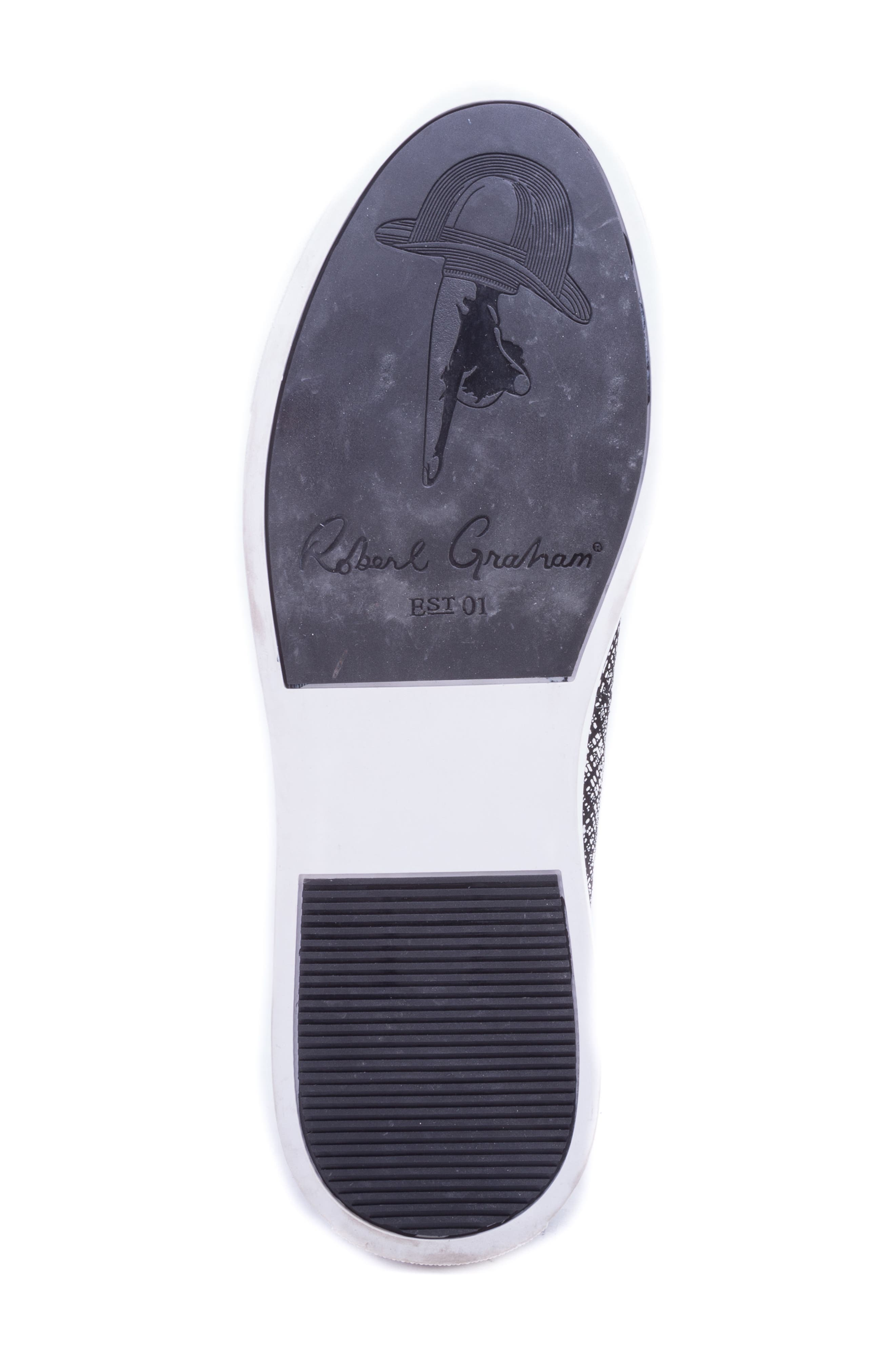 Kitson Slip-On Sneaker,                             Alternate thumbnail 6, color,                             BLACK SUEDE