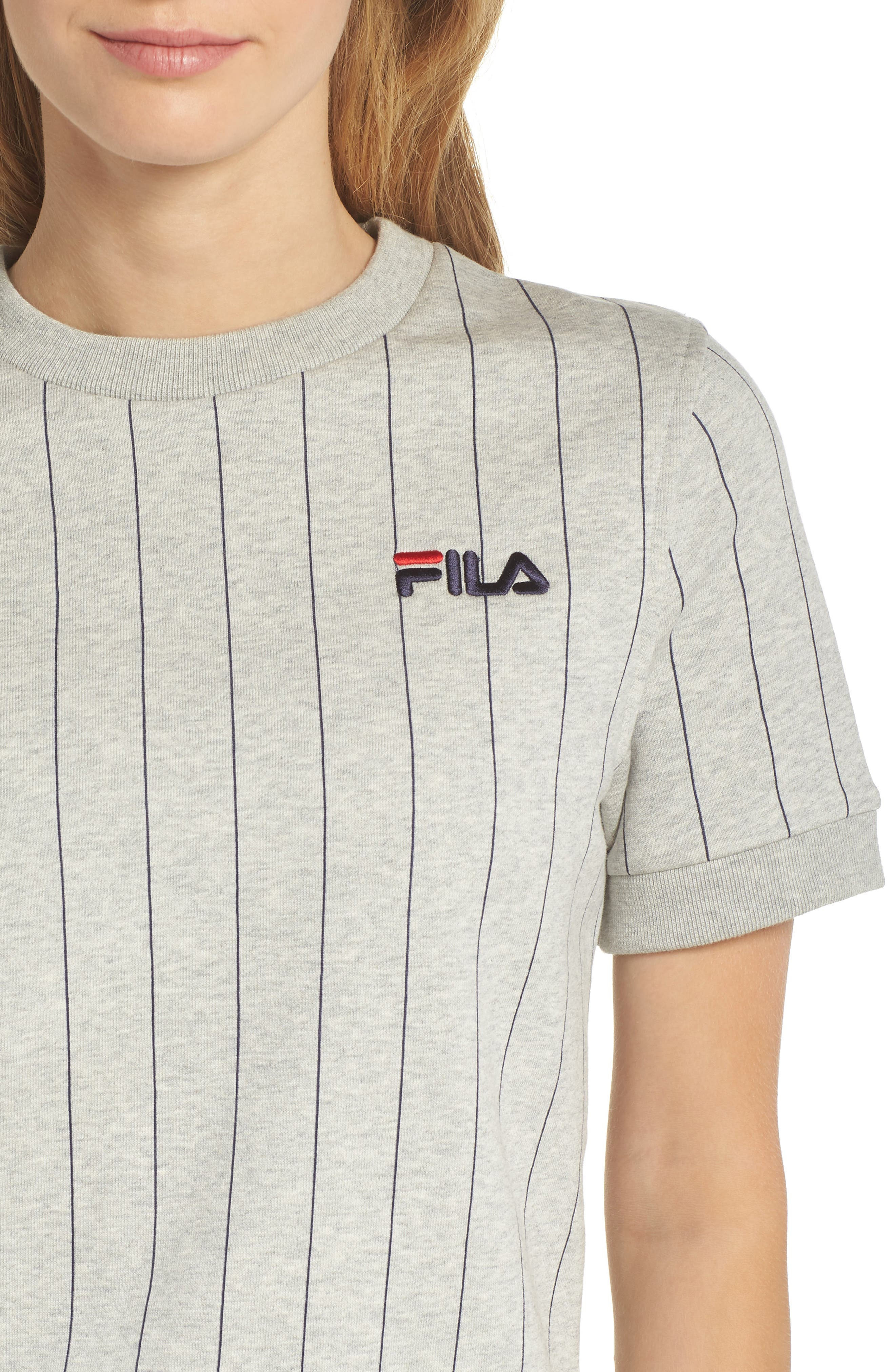 Bren Stripe Sweatshirt,                             Alternate thumbnail 4, color,                             022