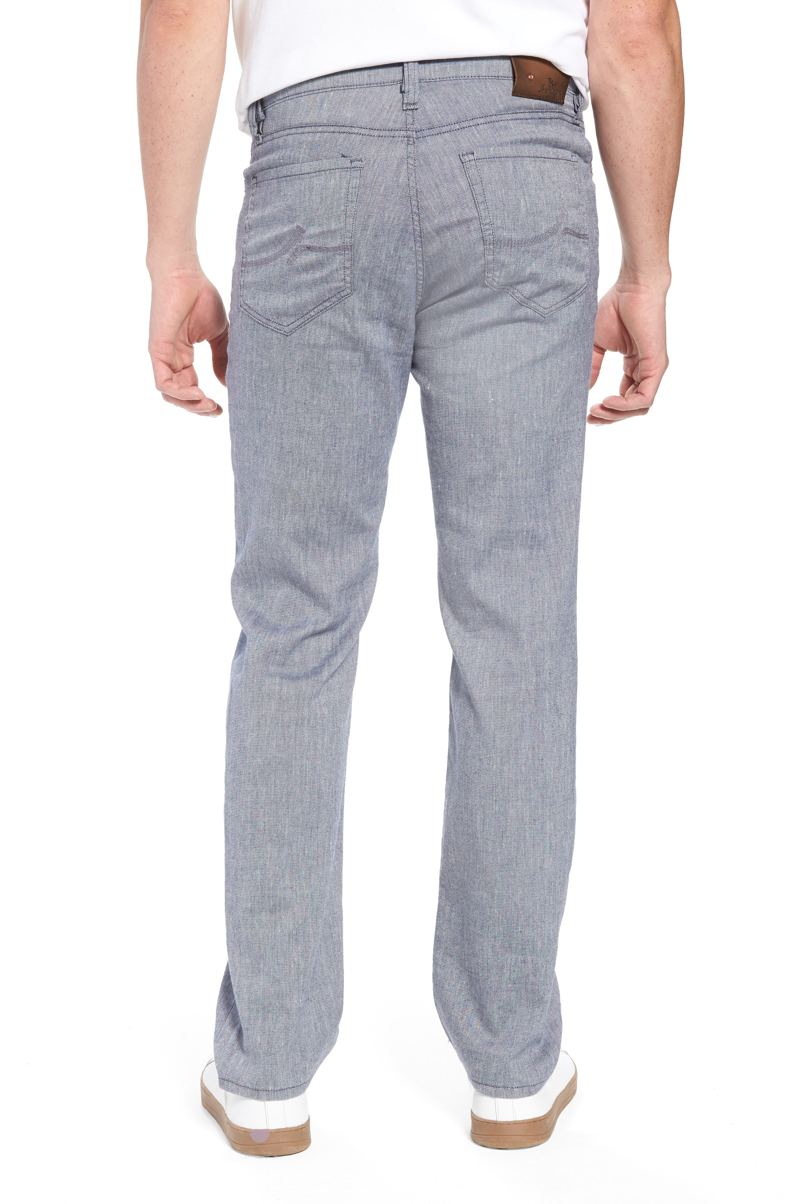 Charisma Relaxed Fit Pants,                             Alternate thumbnail 2, color,                             INDIGO TEXTURED