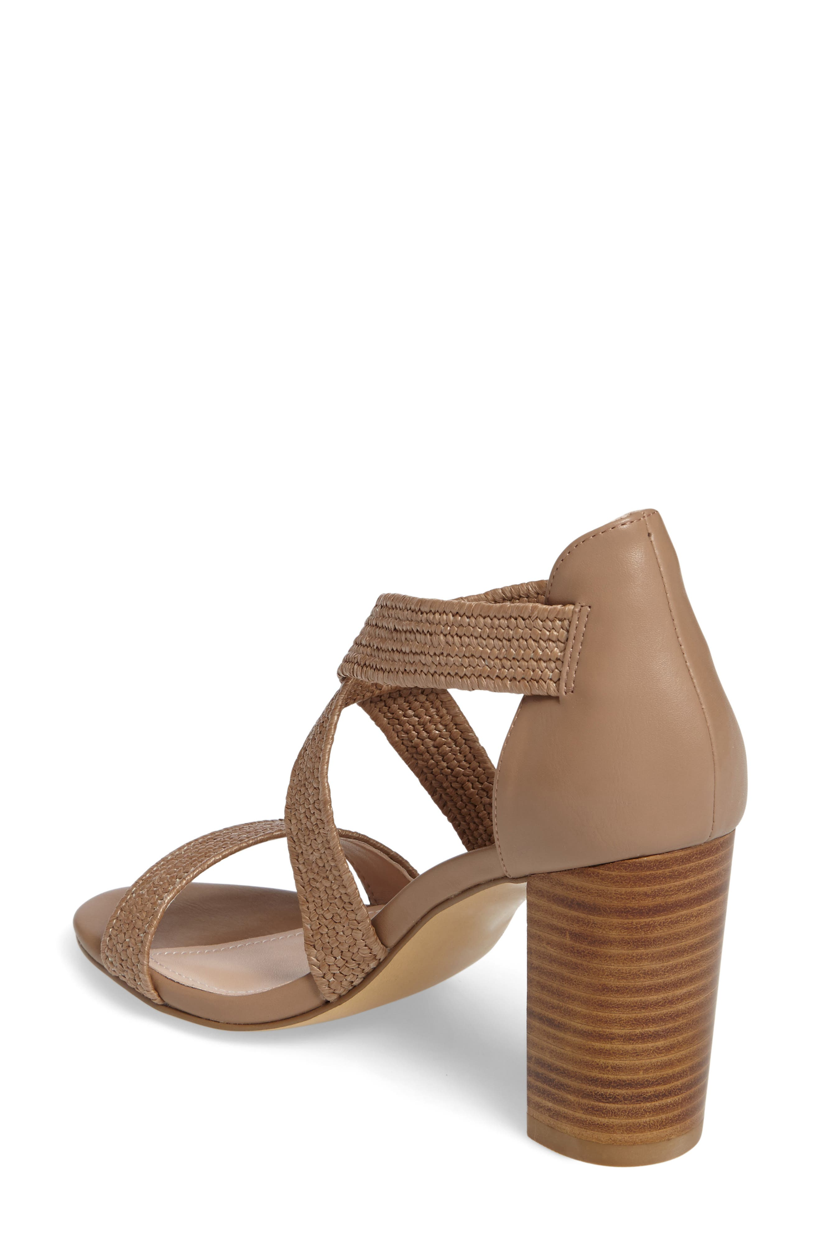 Emily Strappy Sandal,                             Alternate thumbnail 4, color,