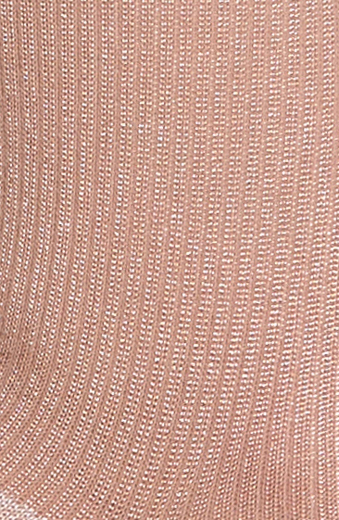 Metallic Trouser Socks,                             Alternate thumbnail 6, color,